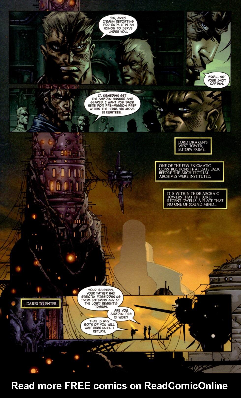 Read online Soul Saga comic -  Issue #4 - 7