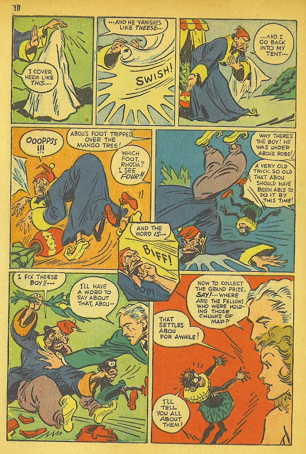 Read online Super-Magician Comics comic -  Issue #19 - 18