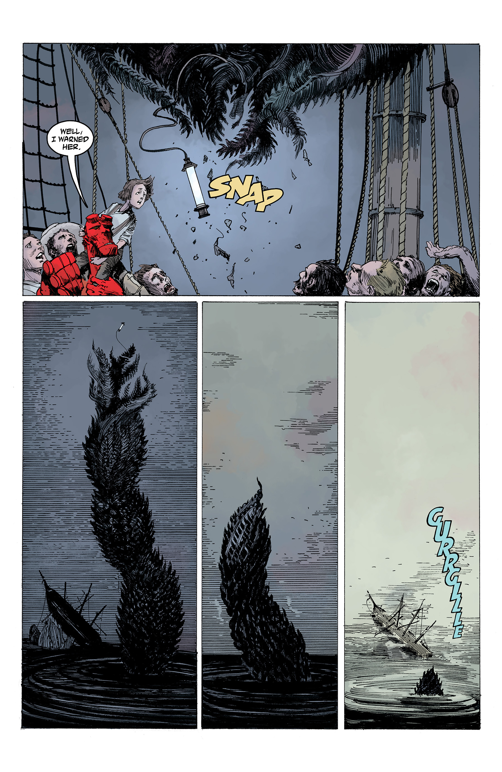 Read online Hellboy: Into the Silent Sea comic -  Issue # Full - 52
