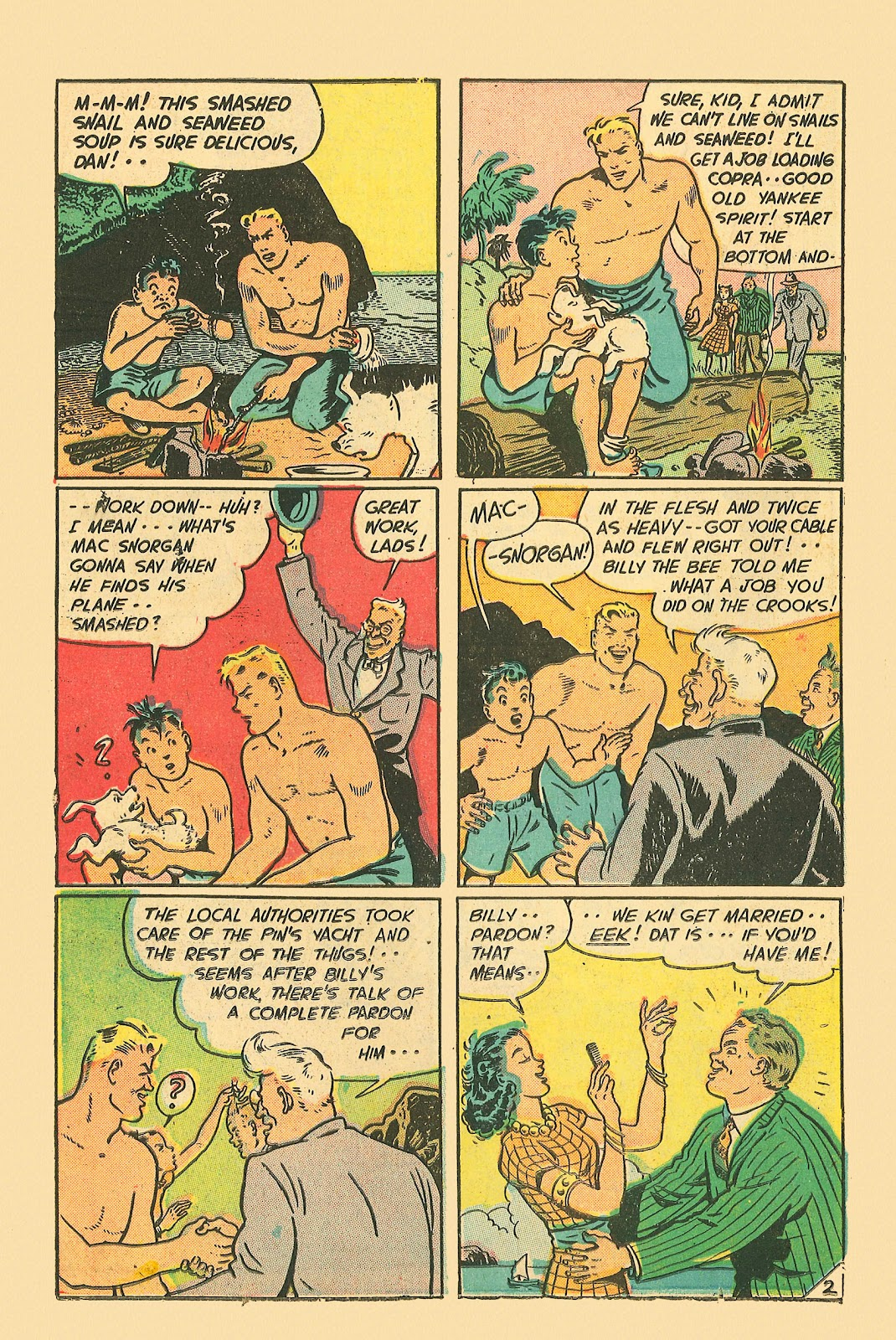 Read online Famous Funnies comic -  Issue #181 - 22
