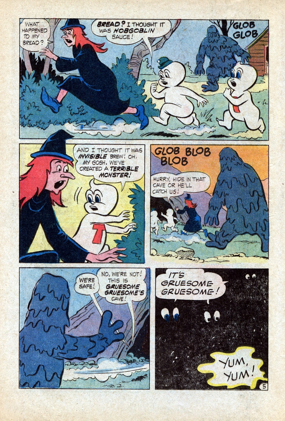Read online Timmy the Timid Ghost comic -  Issue #18 - 12