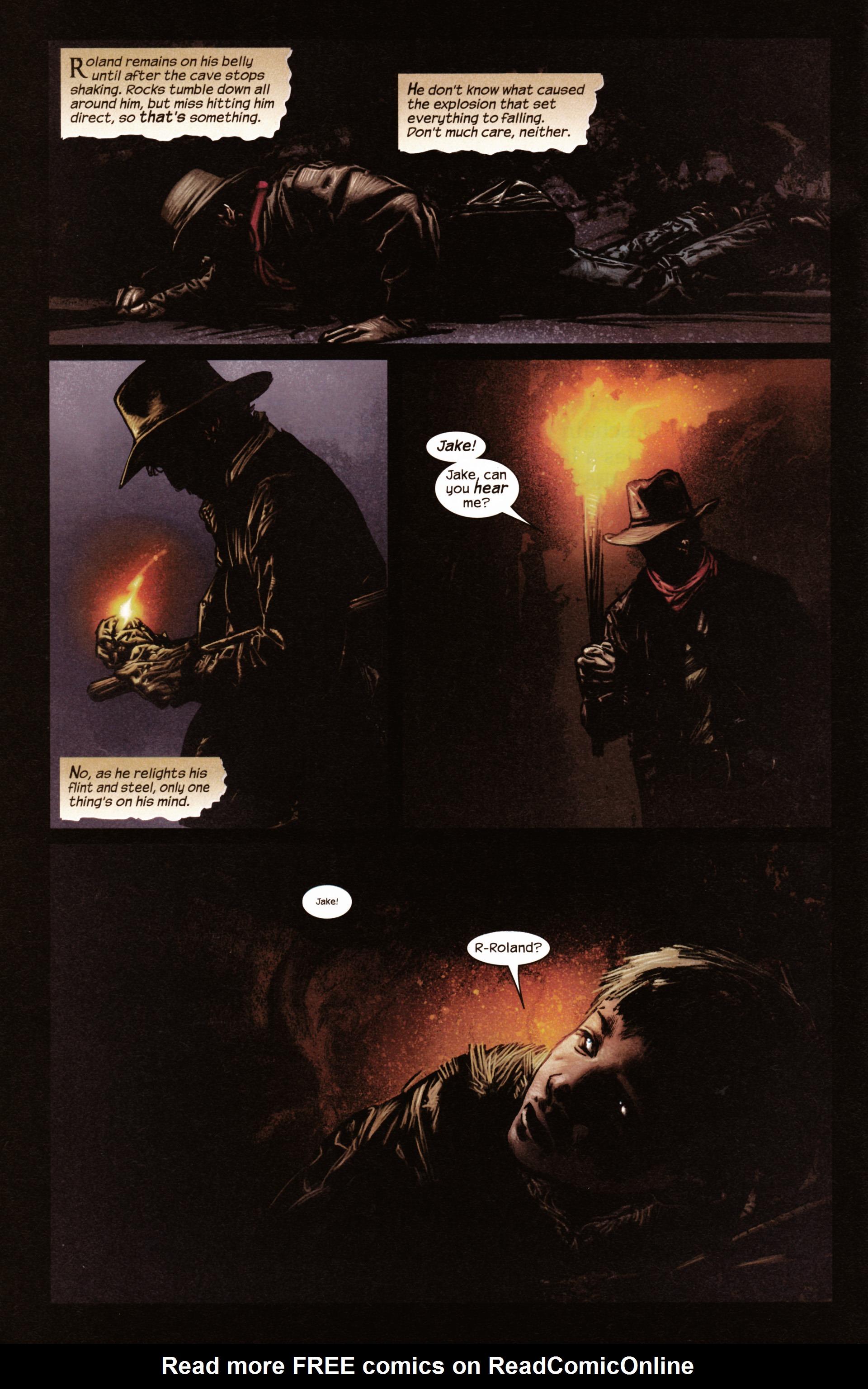 Read online Dark Tower: The Gunslinger - The Man in Black comic -  Issue #2 - 3