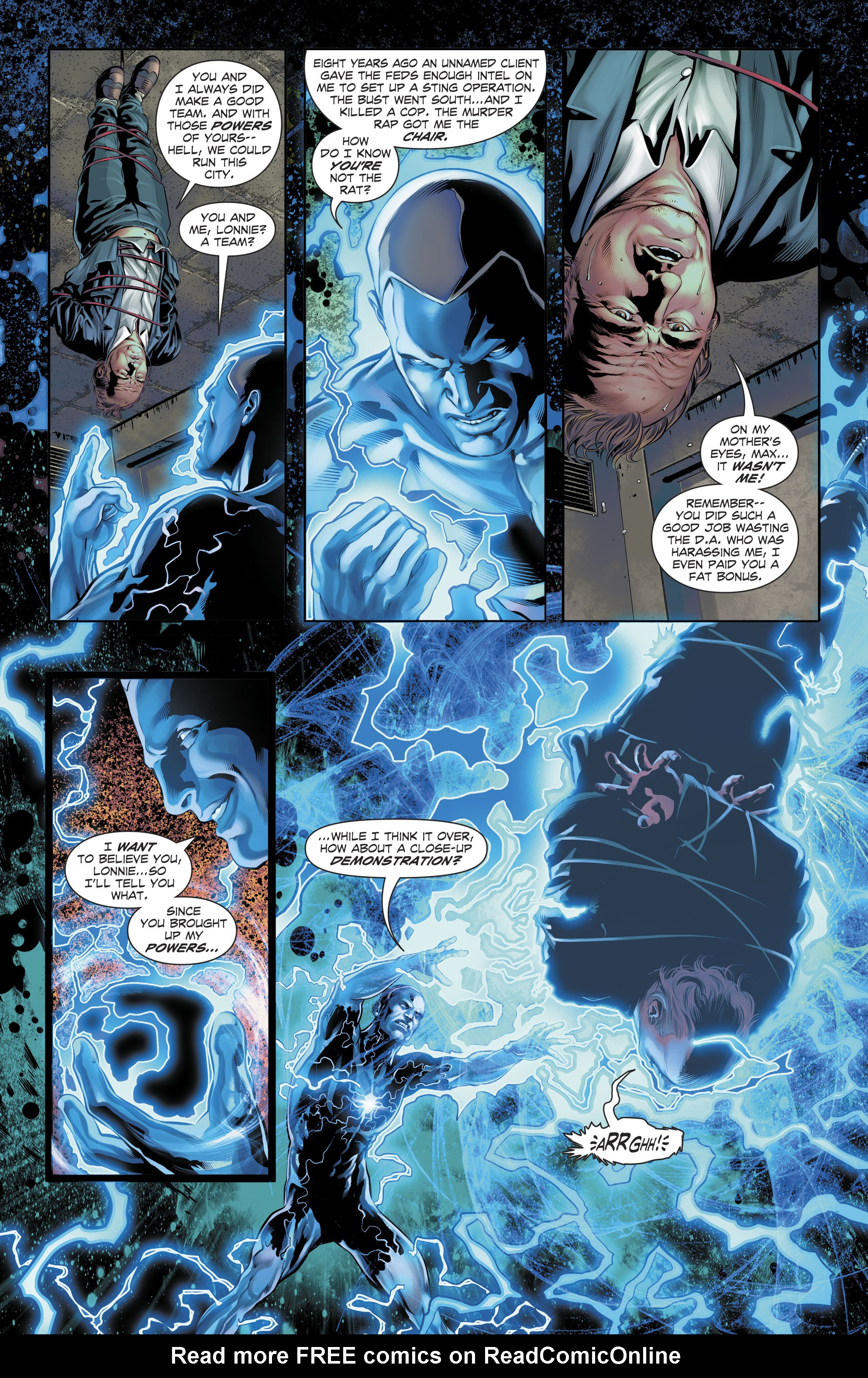 Read online The Fall and Rise of Captain Atom comic -  Issue #5 - 6