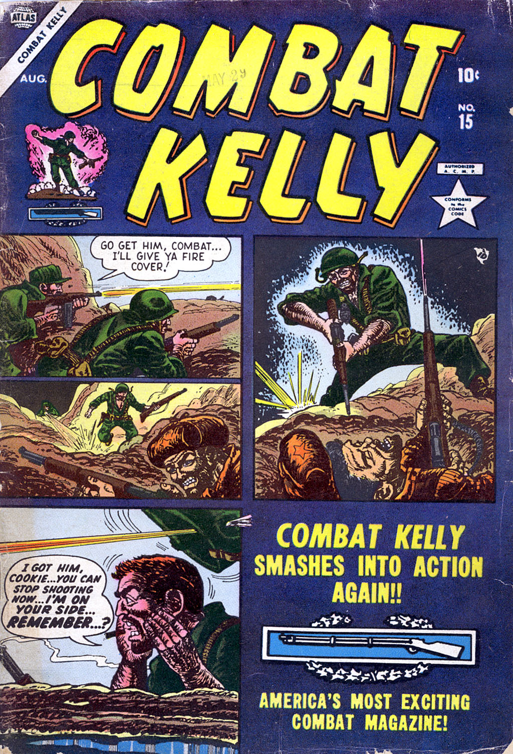 Combat Kelly (1951) issue 15 - Page 1