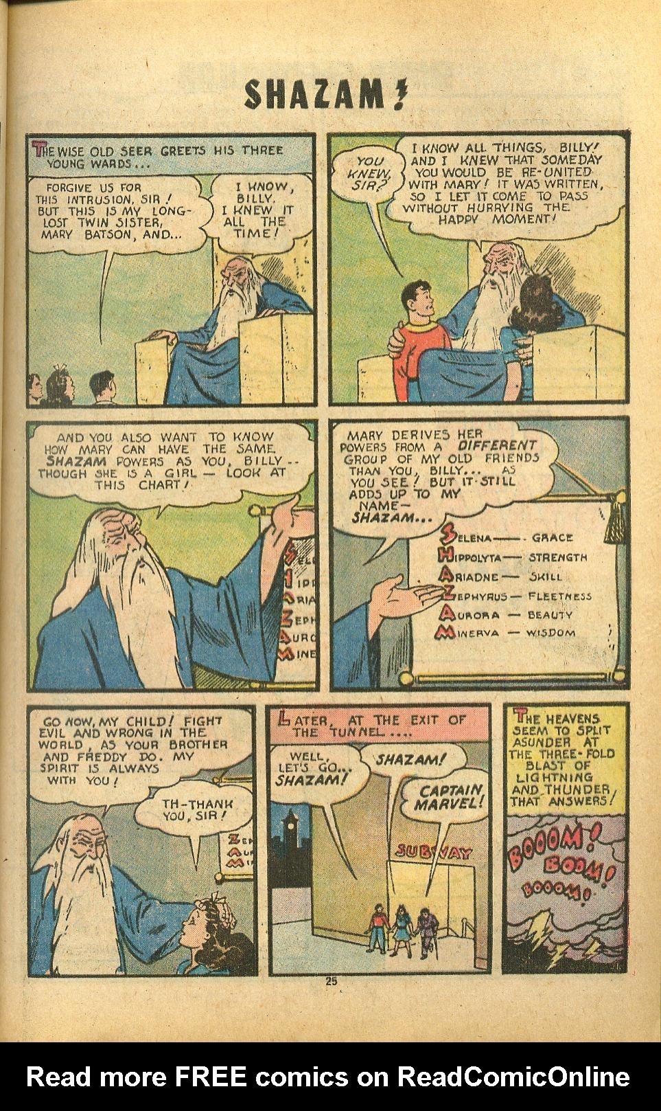 Read online Shazam! (1973) comic -  Issue #8 - 25