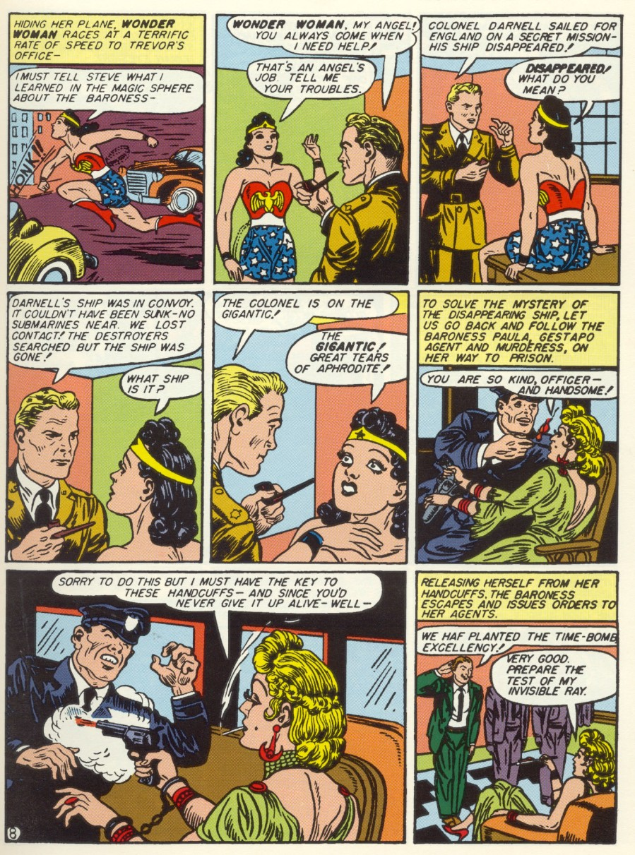 Read online Sensation (Mystery) Comics comic -  Issue #6 - 10