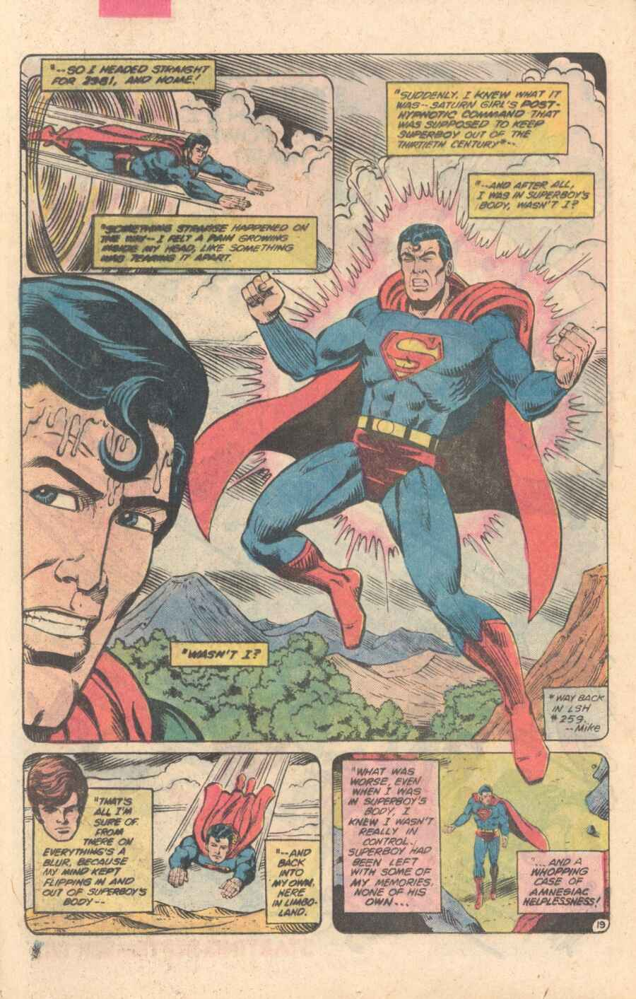 Legion of Super-Heroes (1980) 282 Page 19