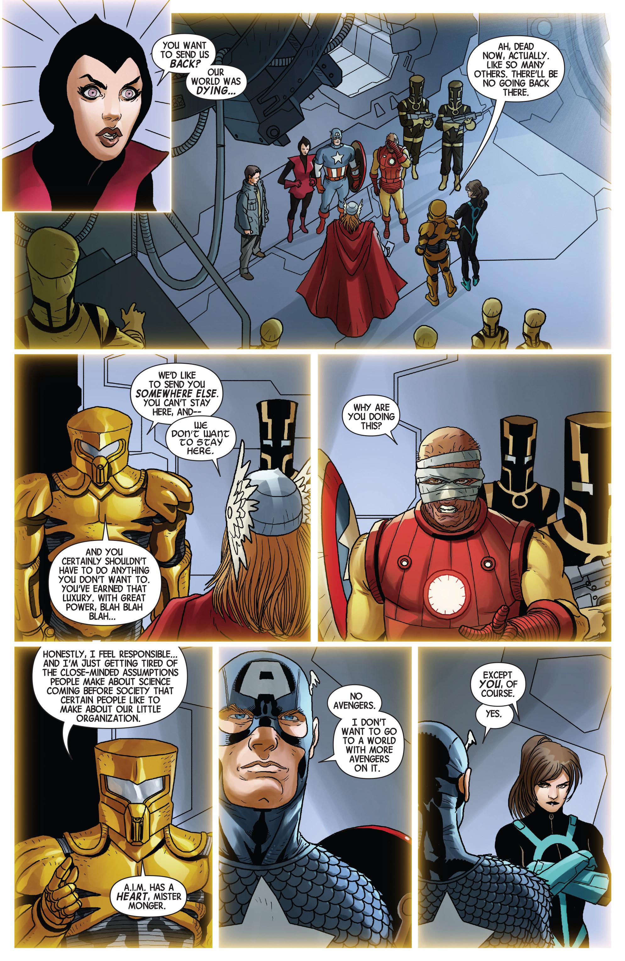 Read online Avengers (2013) comic -  Issue #Avengers (2013) _TPB 5 - 142