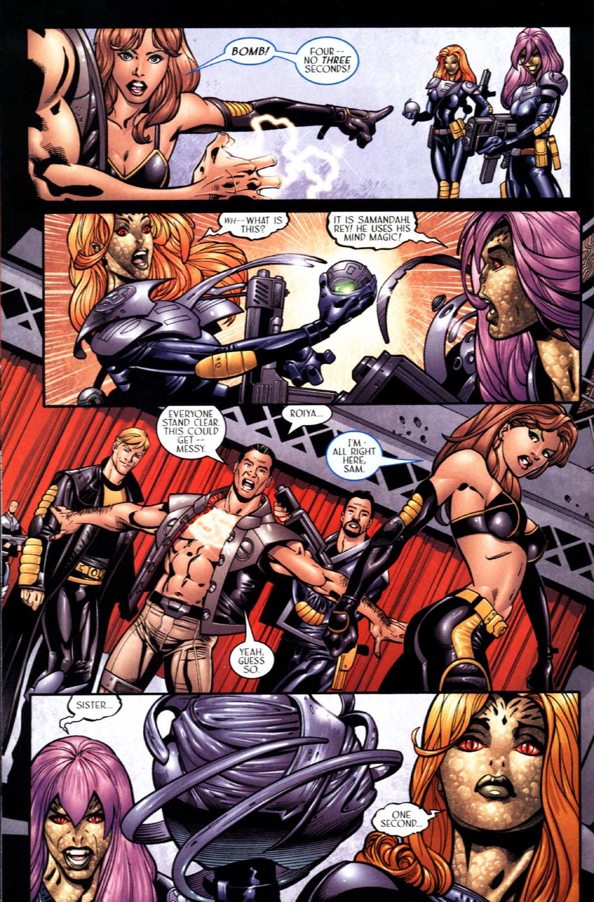 Read online Sigil (2000) comic -  Issue #22 - 8