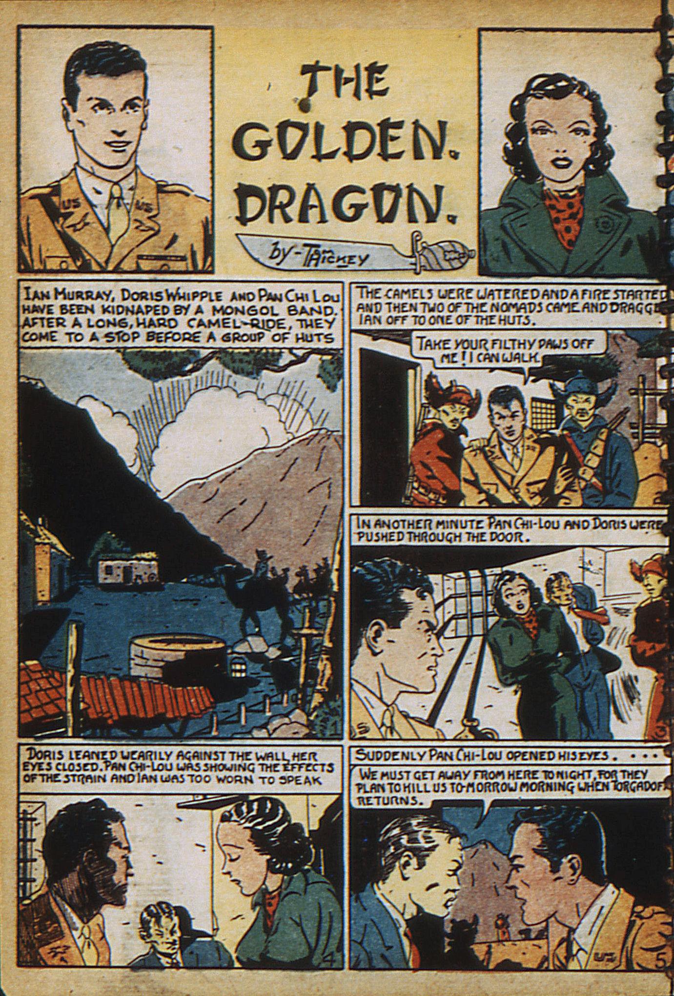 Read online Adventure Comics (1938) comic -  Issue #18 - 7