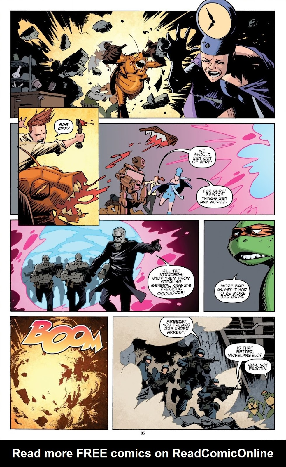 Read online Teenage Mutant Ninja Turtles: The IDW Collection comic -  Issue # TPB 8 (Part 1) - 65