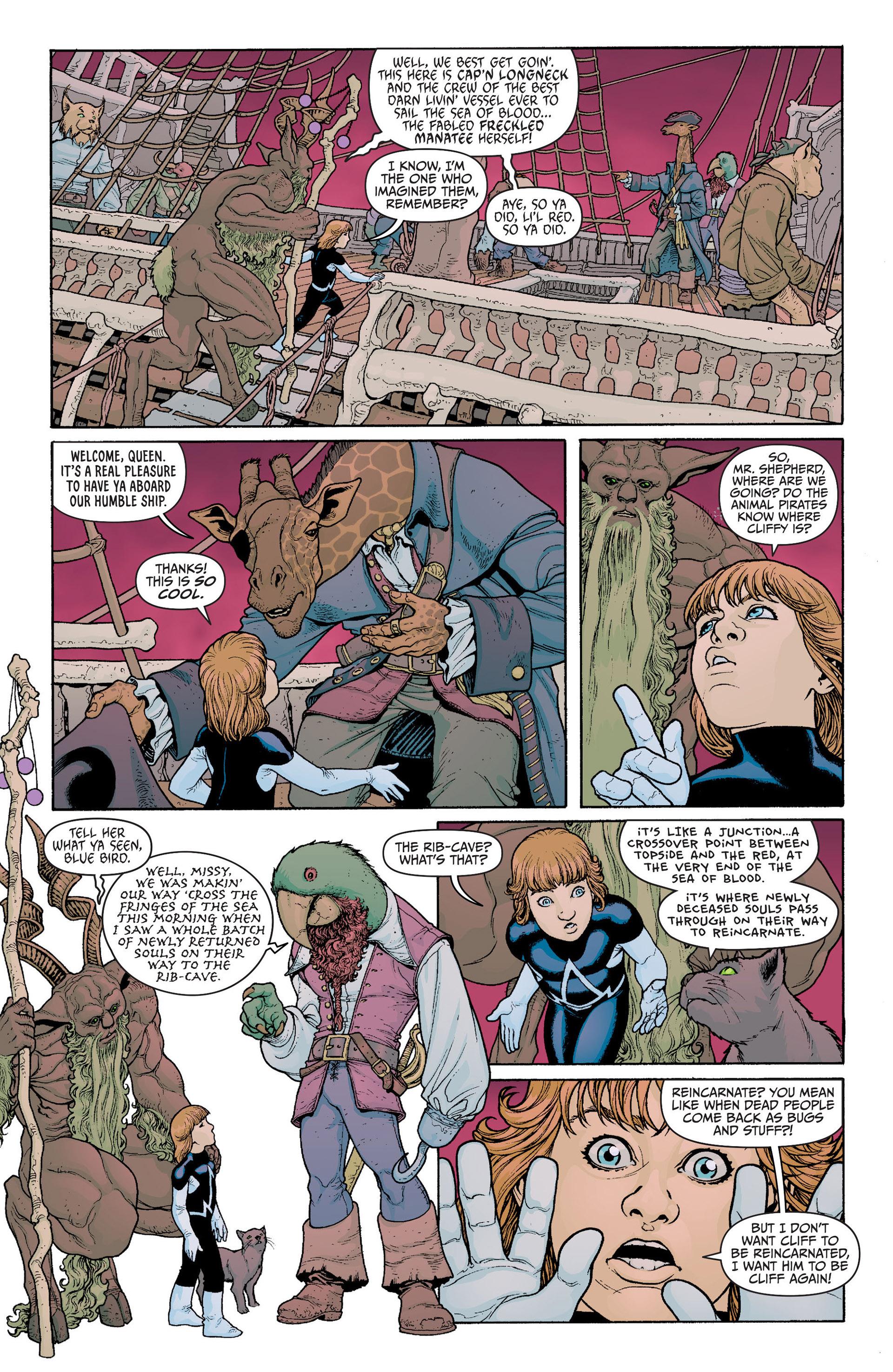 Read online Animal Man (2011) comic -  Issue #23 - 6