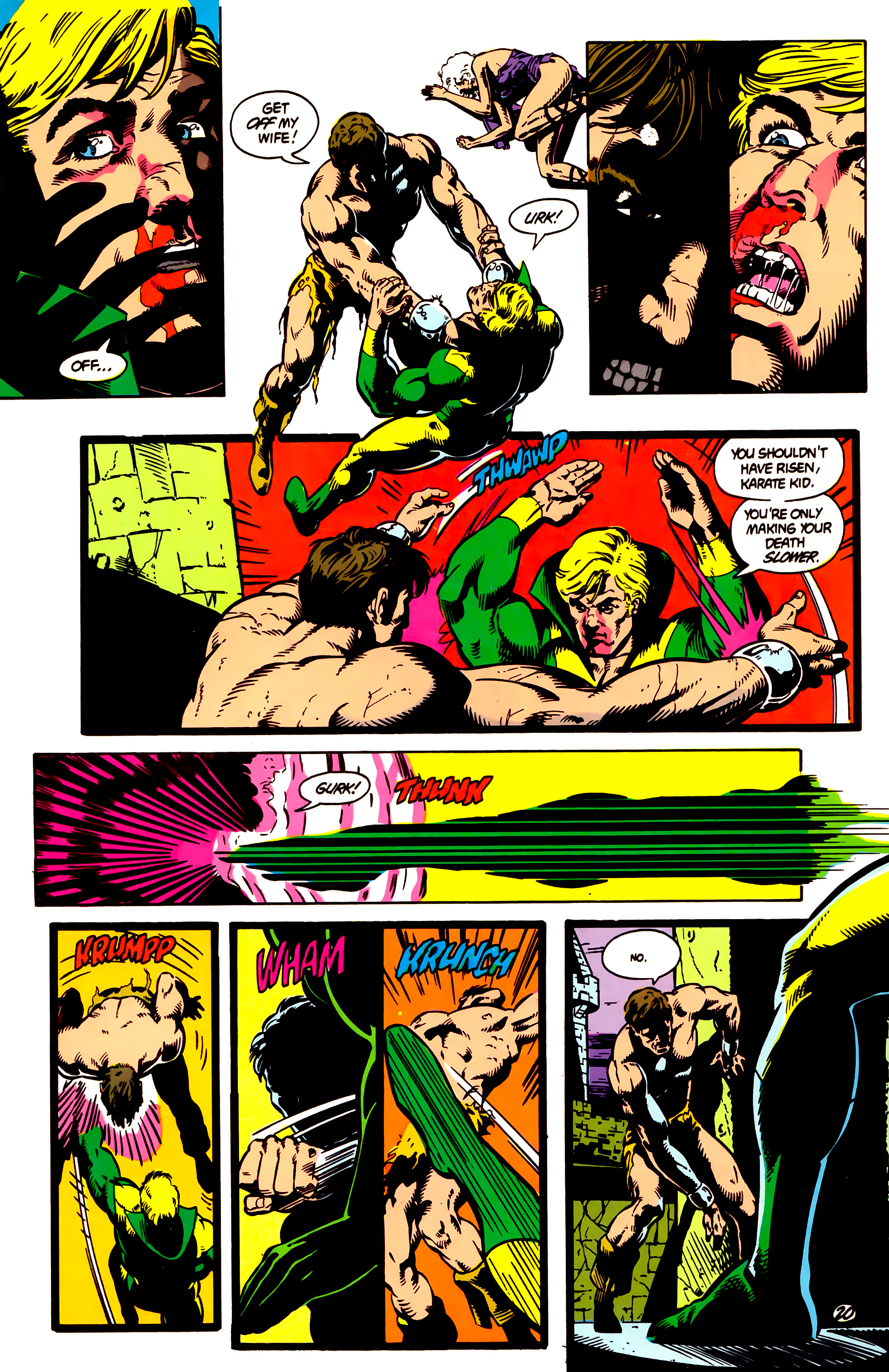 Legion of Super-Heroes (1984) 4 Page 21