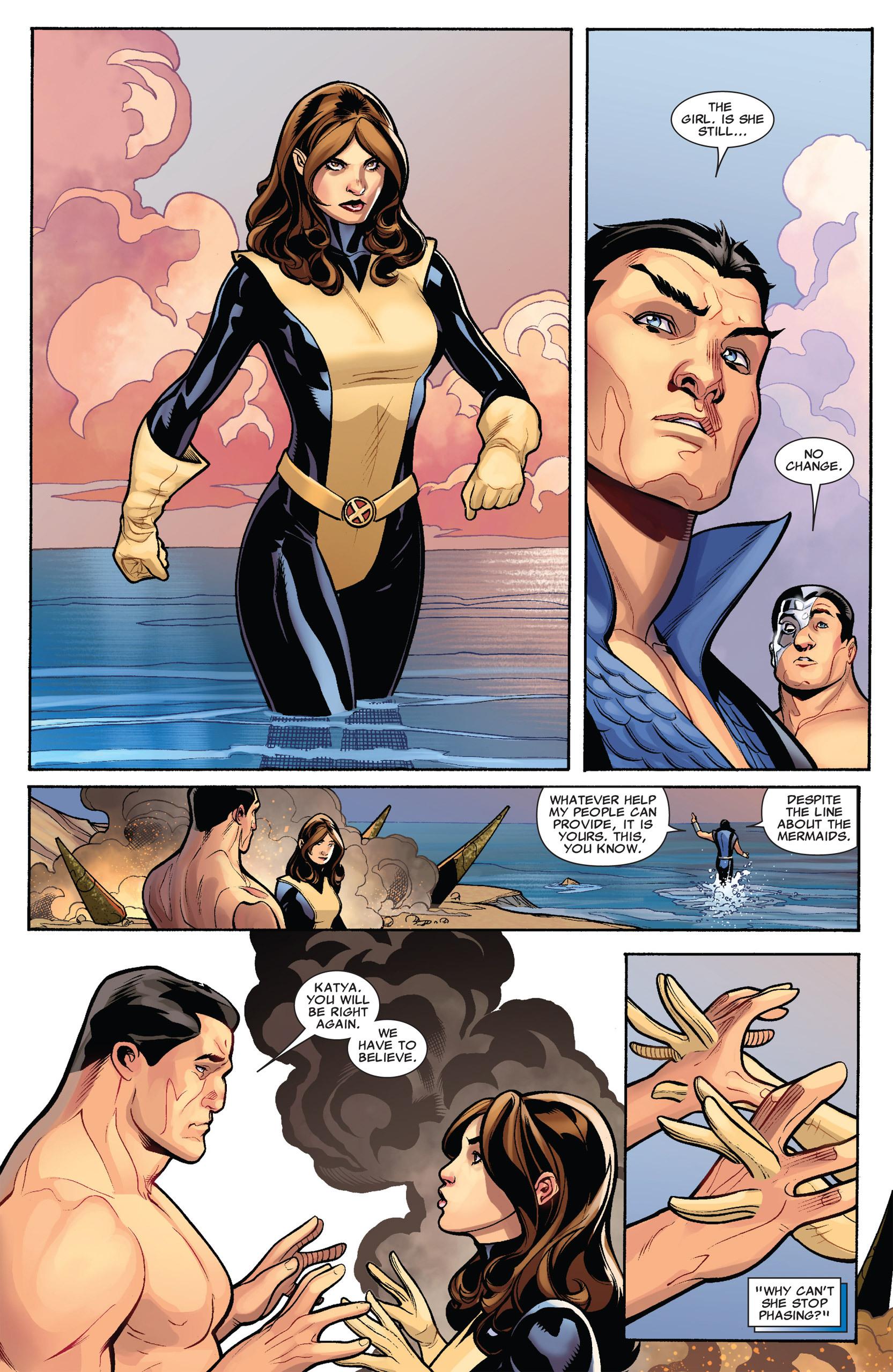 Read online Uncanny X-Men (1963) comic -  Issue #535 - 9