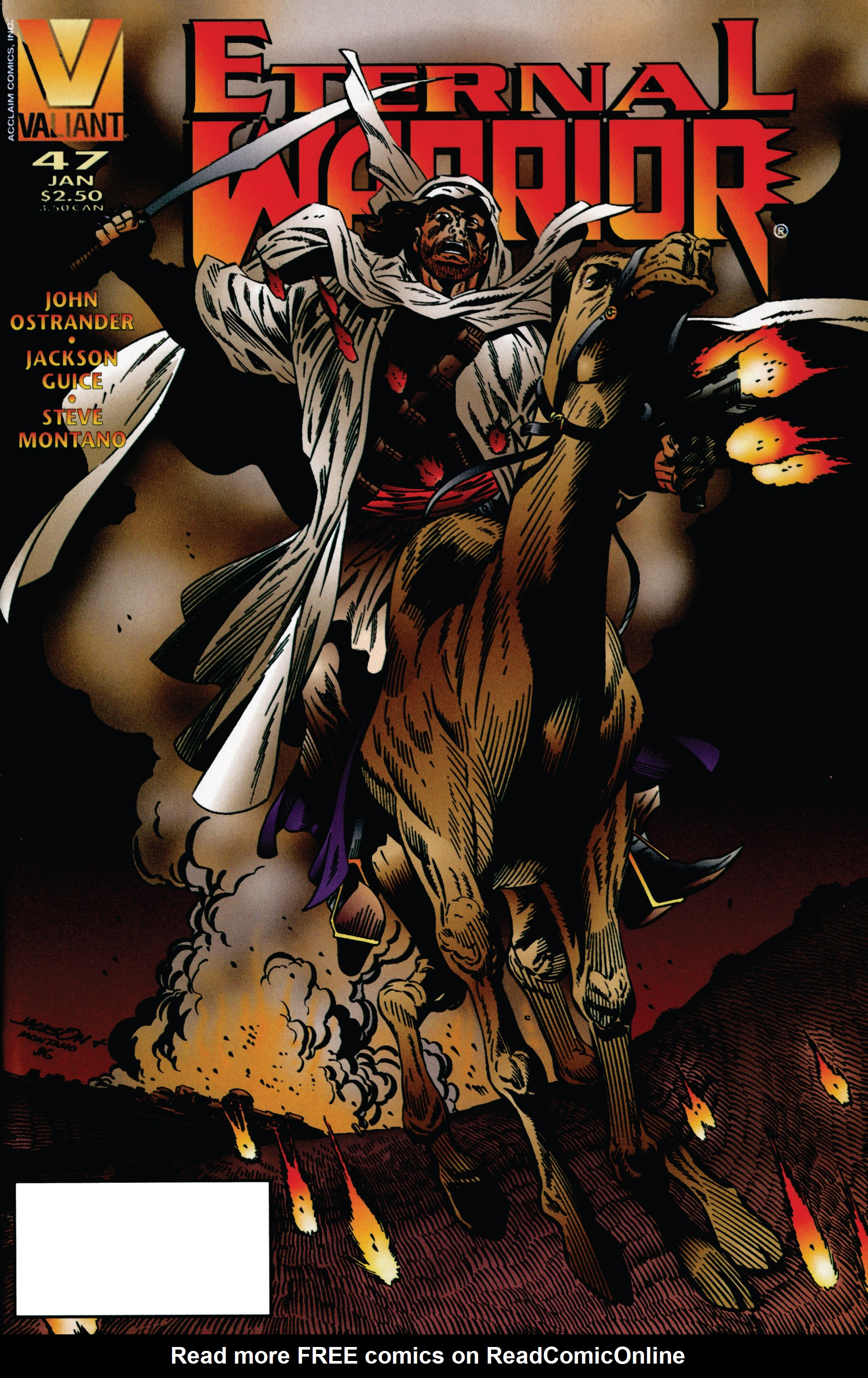 Read online Eternal Warrior (1992) comic -  Issue #47 - 1