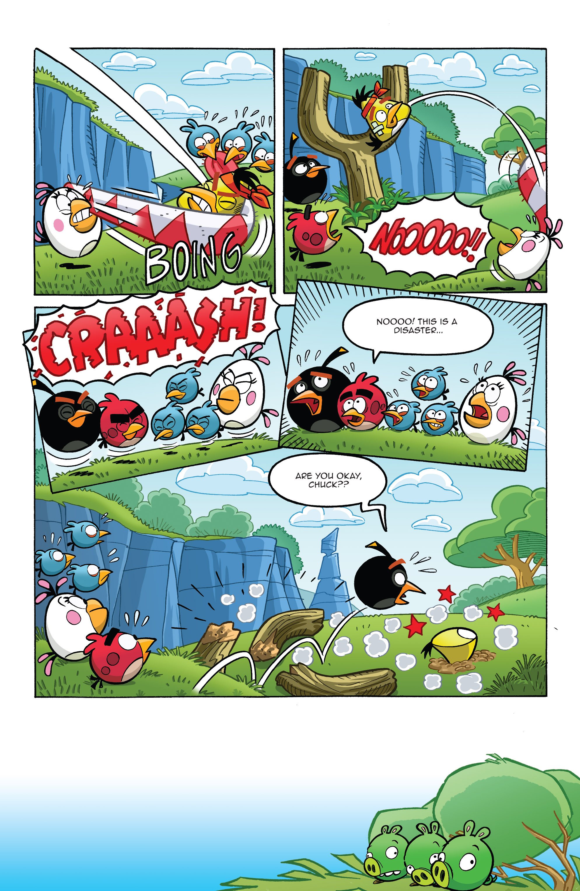 Read online Angry Birds Comics (2014) comic -  Issue #8 - 9