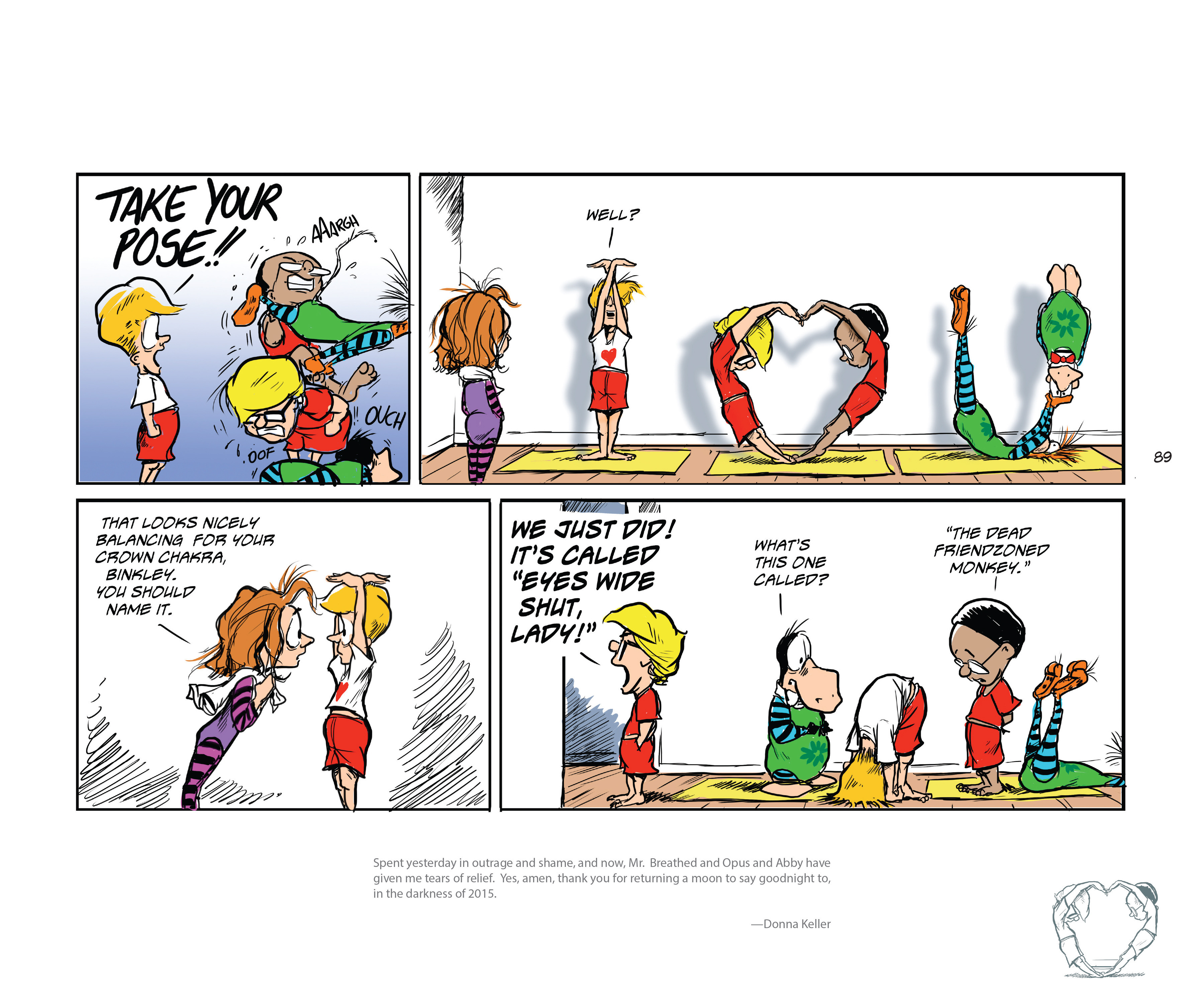 Read online Bloom County Episode XI: A New Hope comic -  Issue # Full - 91