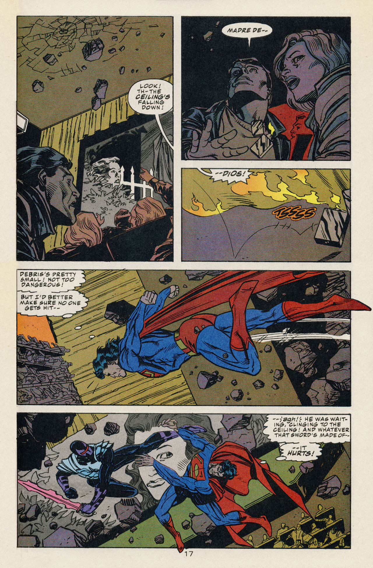 Read online Action Comics (1938) comic -  Issue #707 - 24