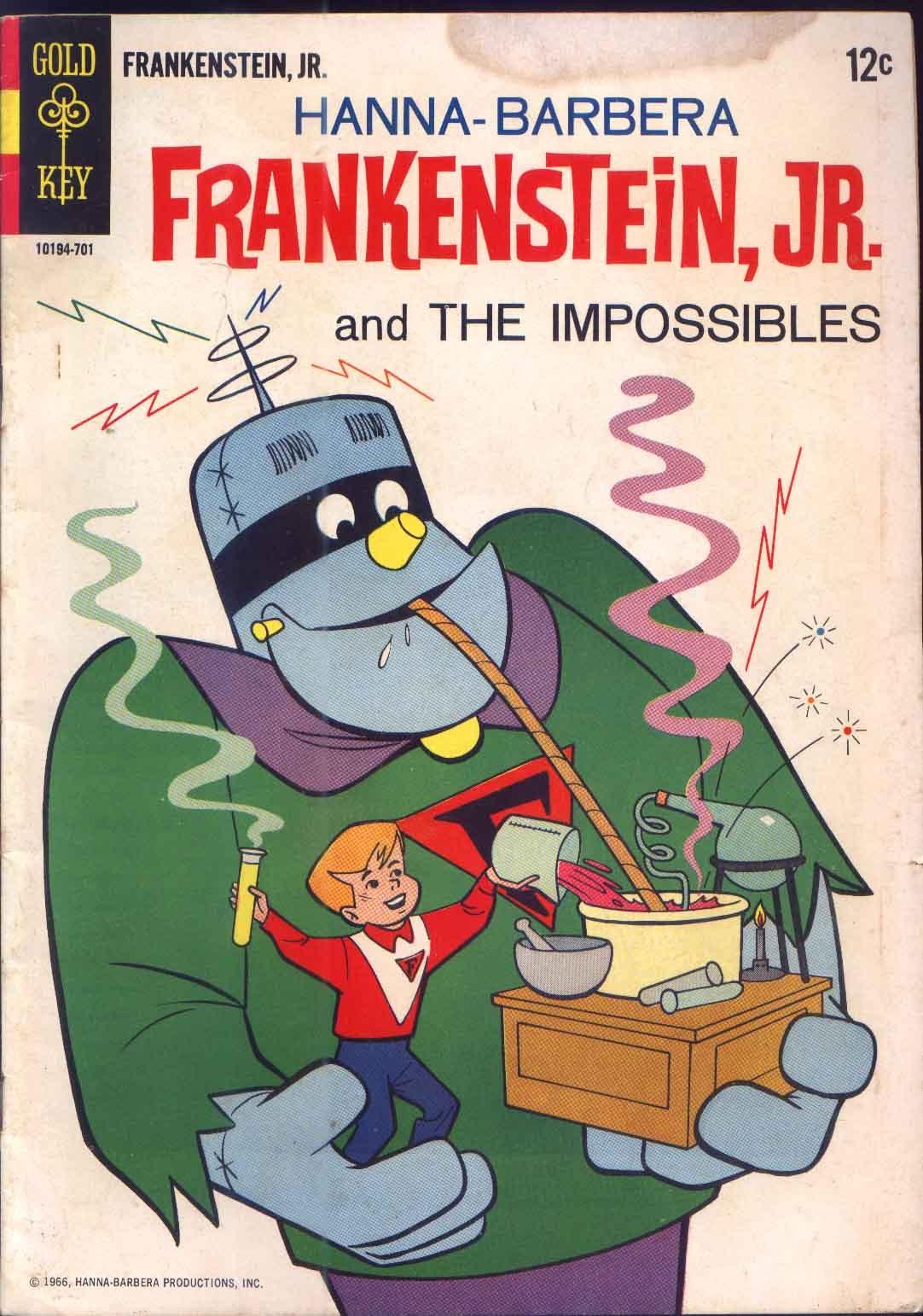 Read online Frankenstein, Jr. comic -  Issue # Full - 1