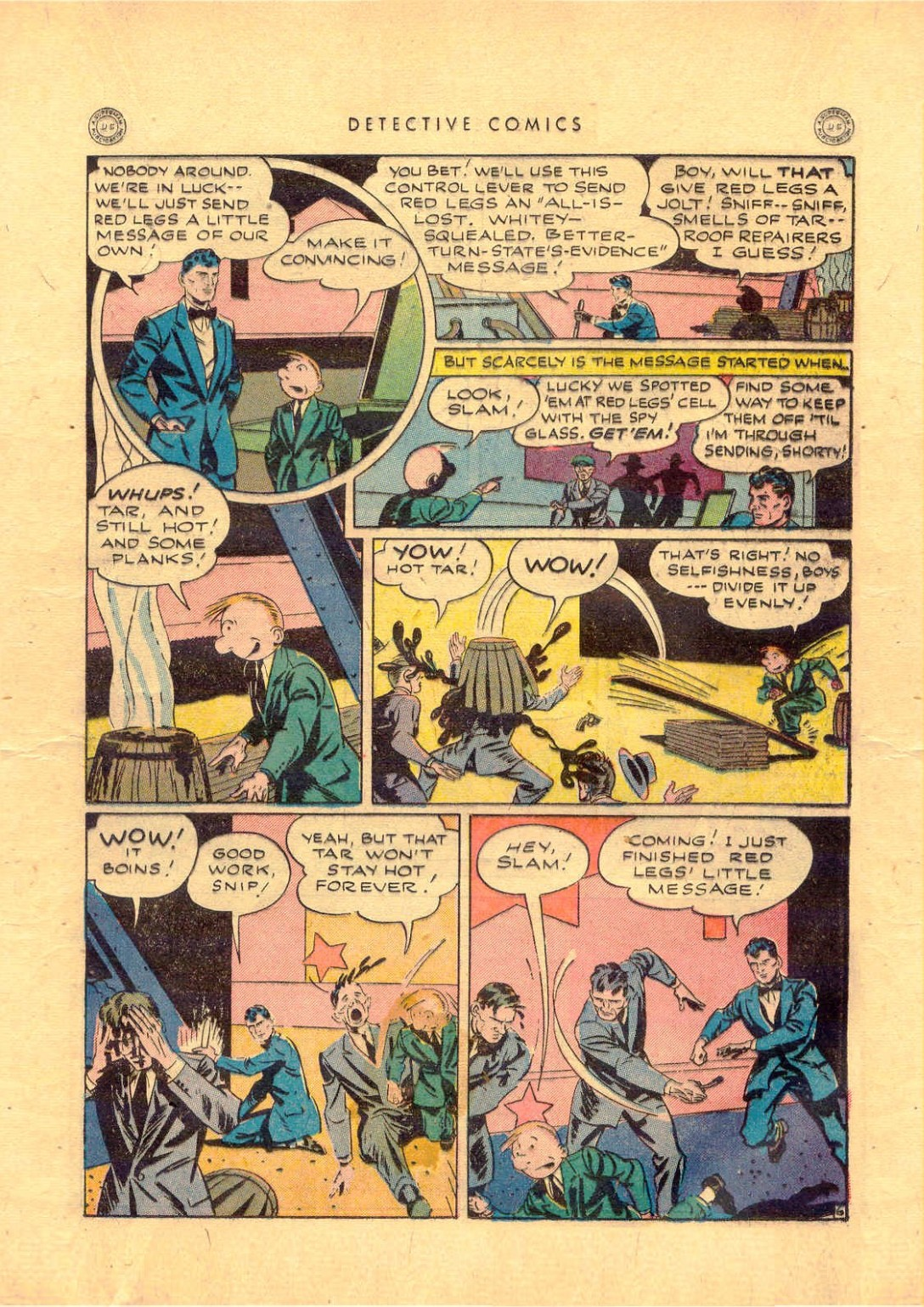 Read online Detective Comics (1937) comic -  Issue #92 - 29