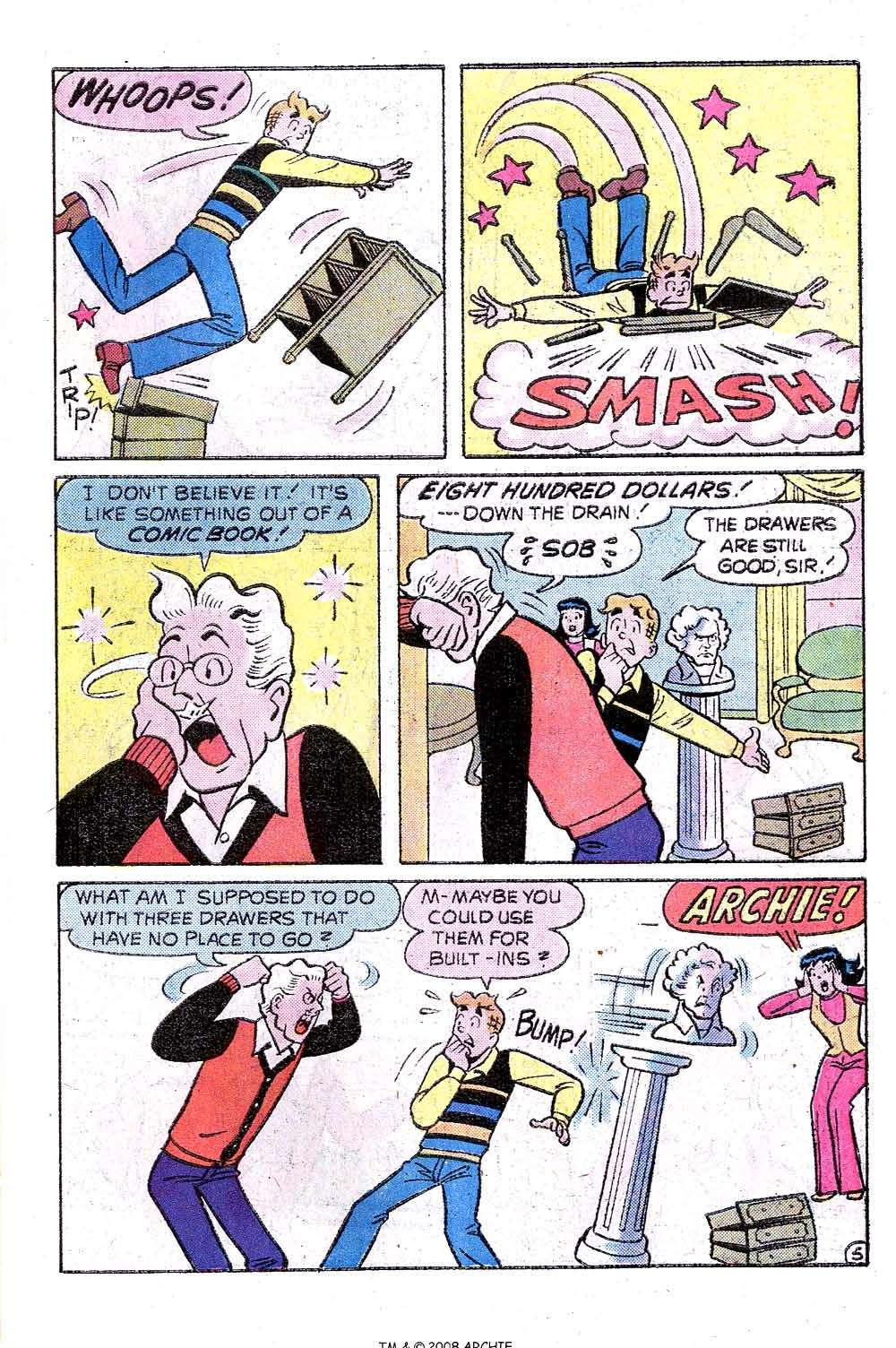 Read online Archie (1960) comic -  Issue #244 - 7