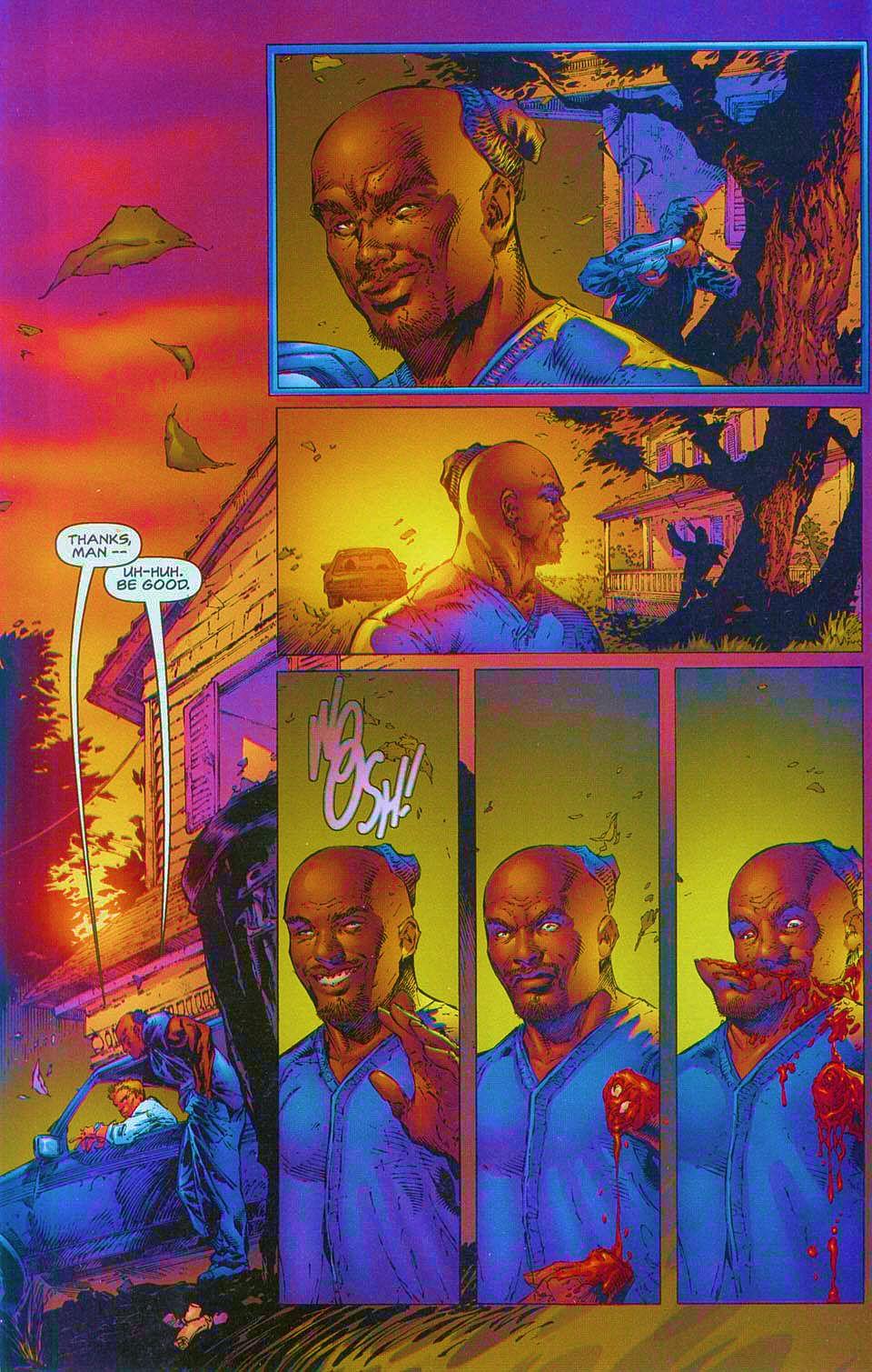Read online Overkill: Witchblade/Aliens/Darkness/Predator comic -  Issue #1 - 23