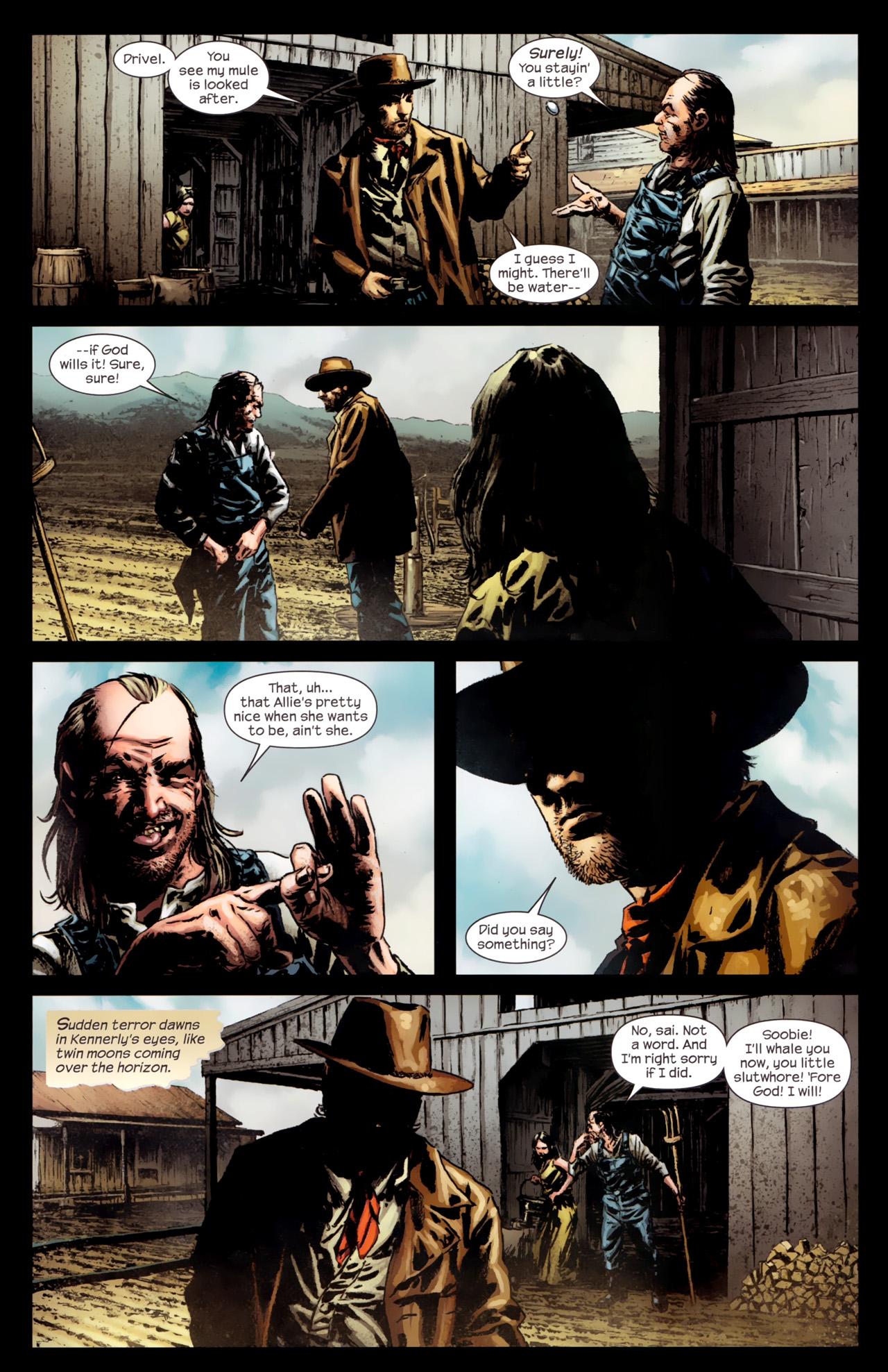 Read online Dark Tower: The Gunslinger - The Battle of Tull comic -  Issue #4 - 8