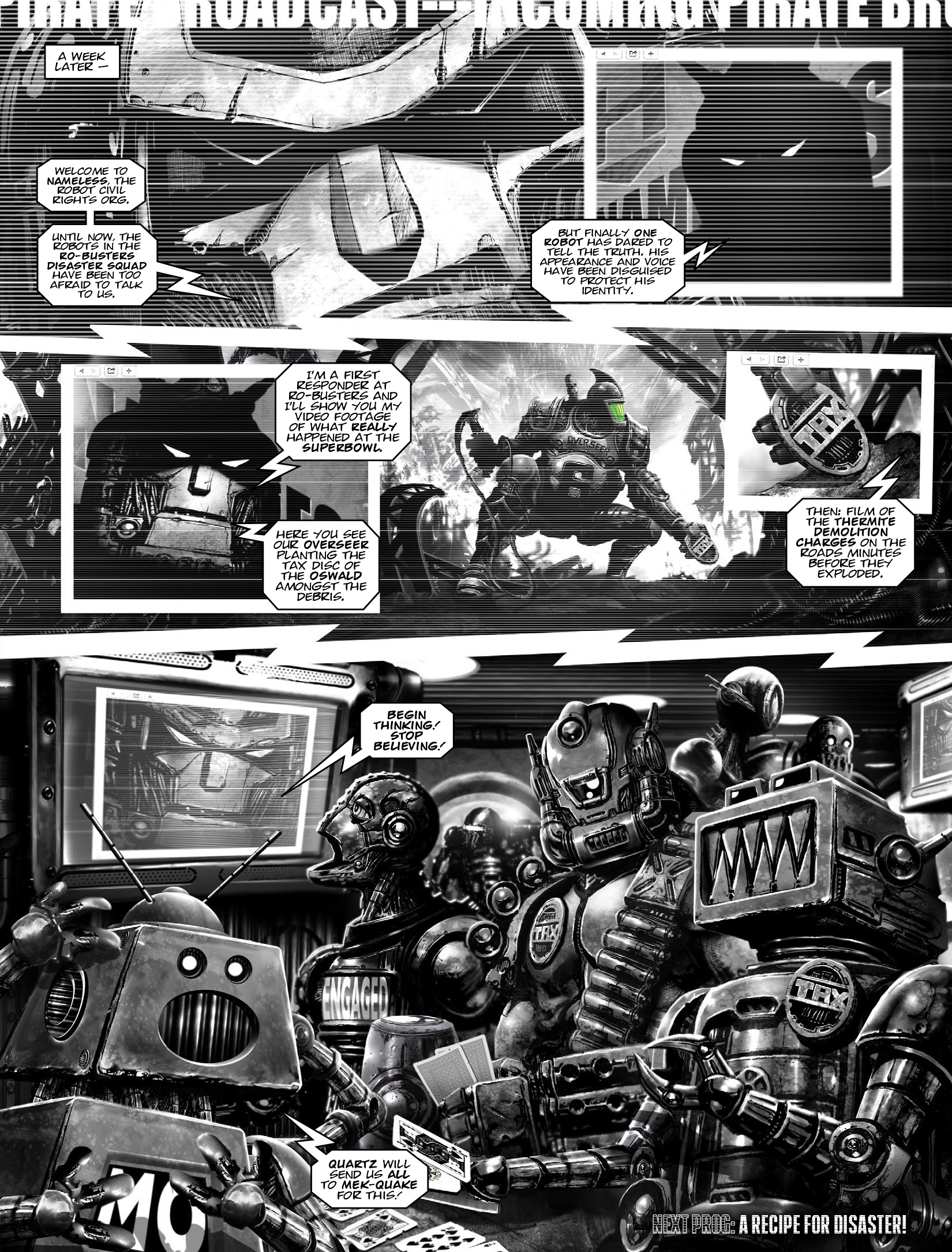 Read online 2000 AD comic -  Issue #1965 - 18