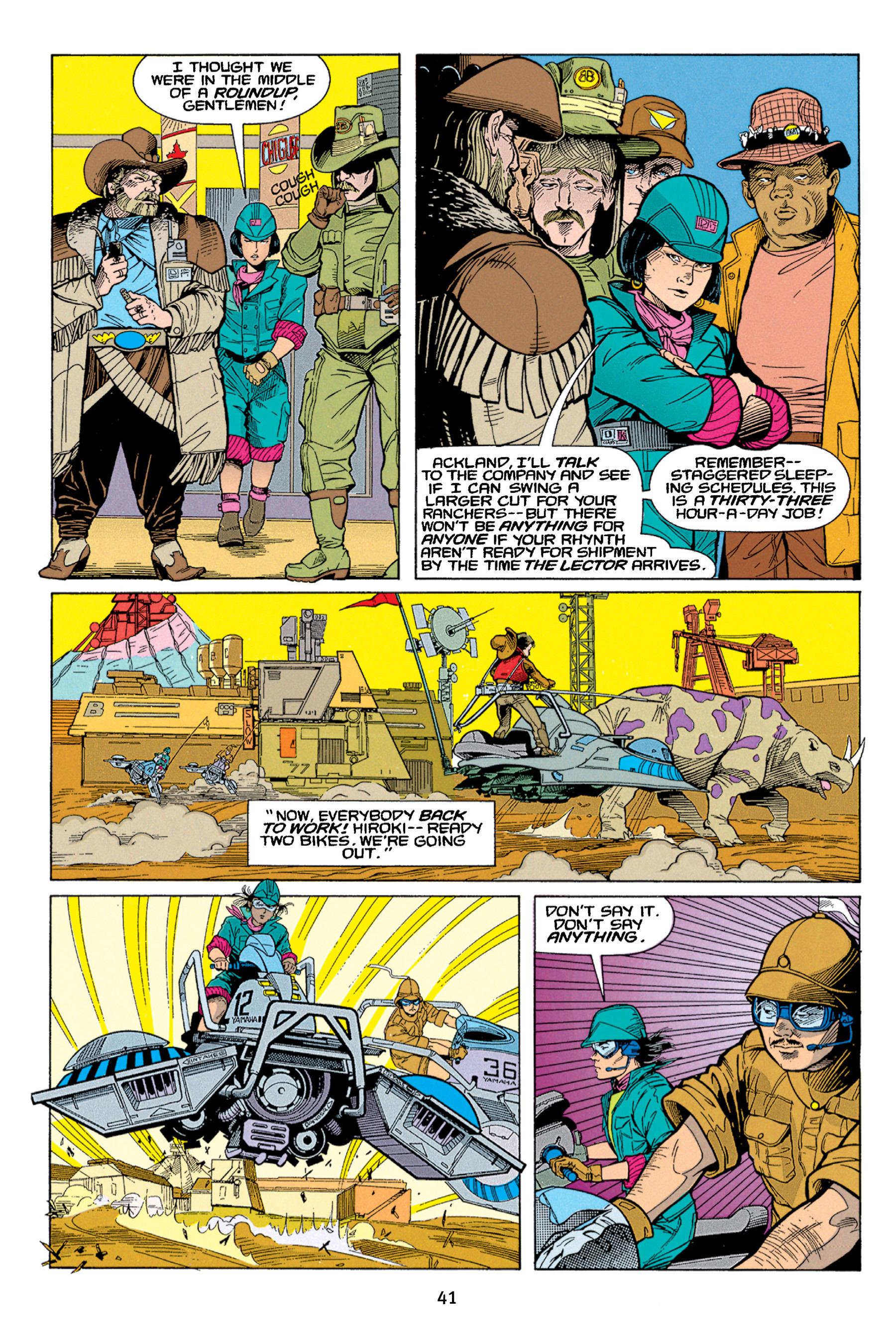 Read online Aliens vs. Predator Omnibus comic -  Issue # _TPB 1 Part 1 - 41