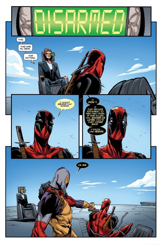 Read online Deadpool (2008) comic -  Issue #63 - 19