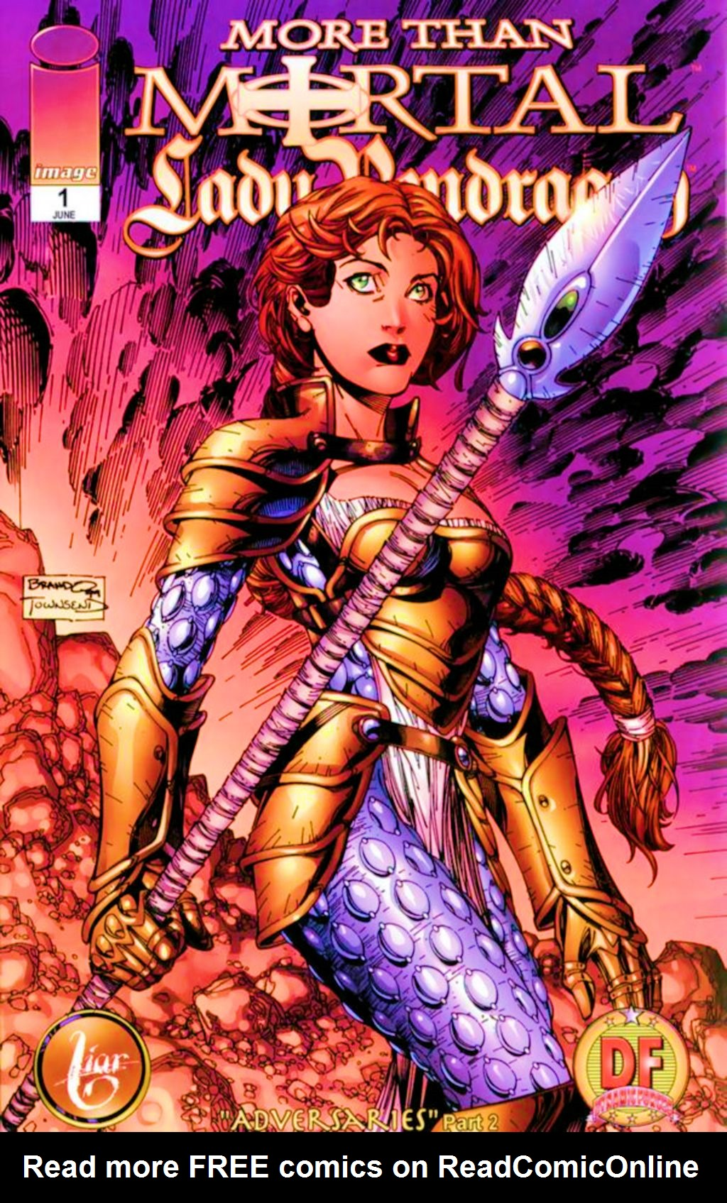 Read online Lady Pendragon / More Than Mortal comic -  Issue #1 - 3