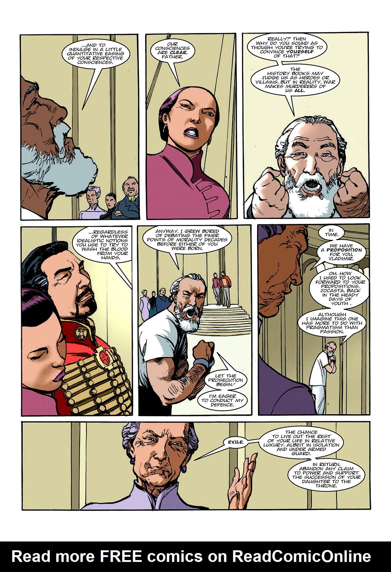 Read online Nikolai Dante comic -  Issue # TPB 10 - 90
