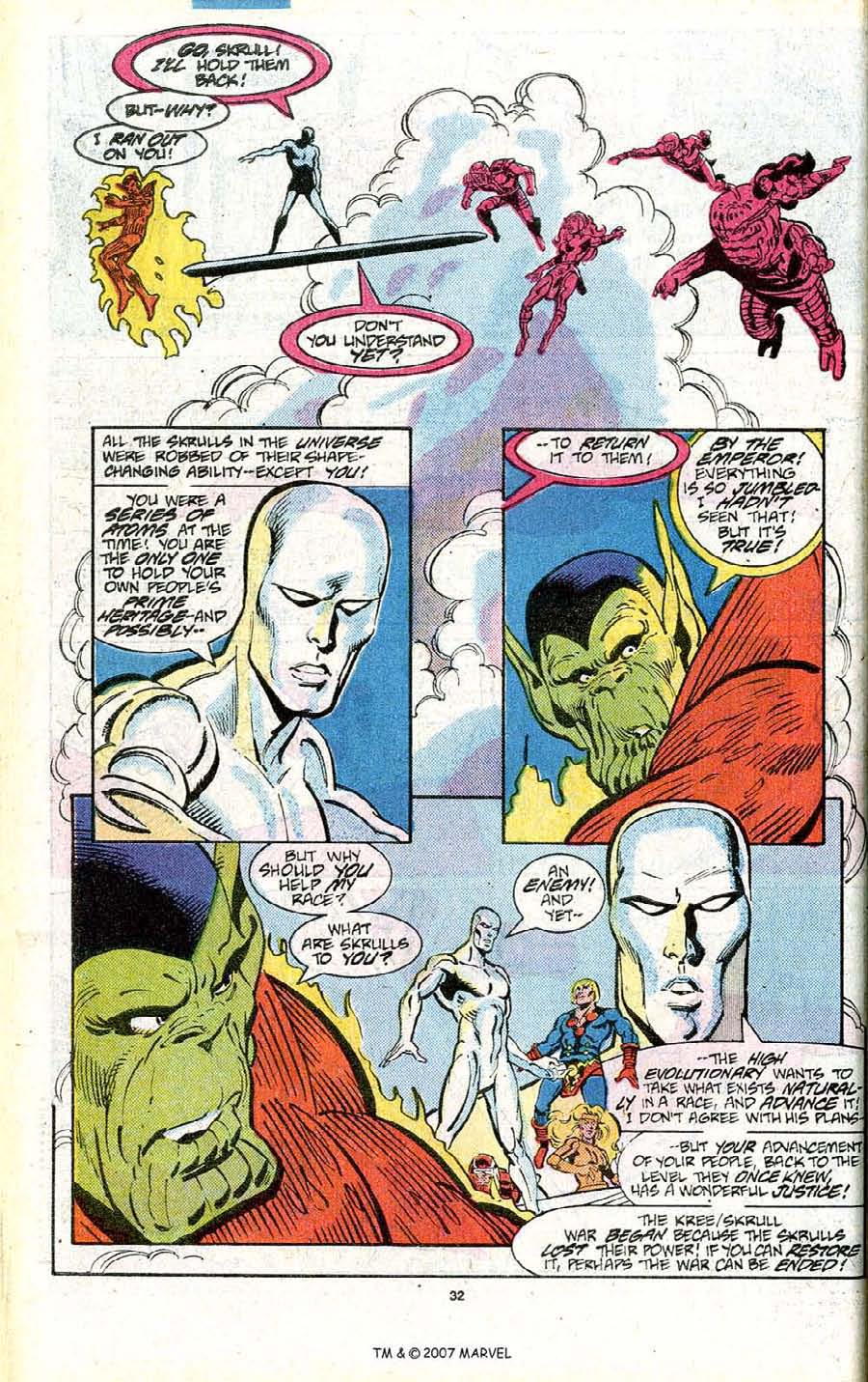 Read online Silver Surfer (1987) comic -  Issue # _Annual 1 - 34