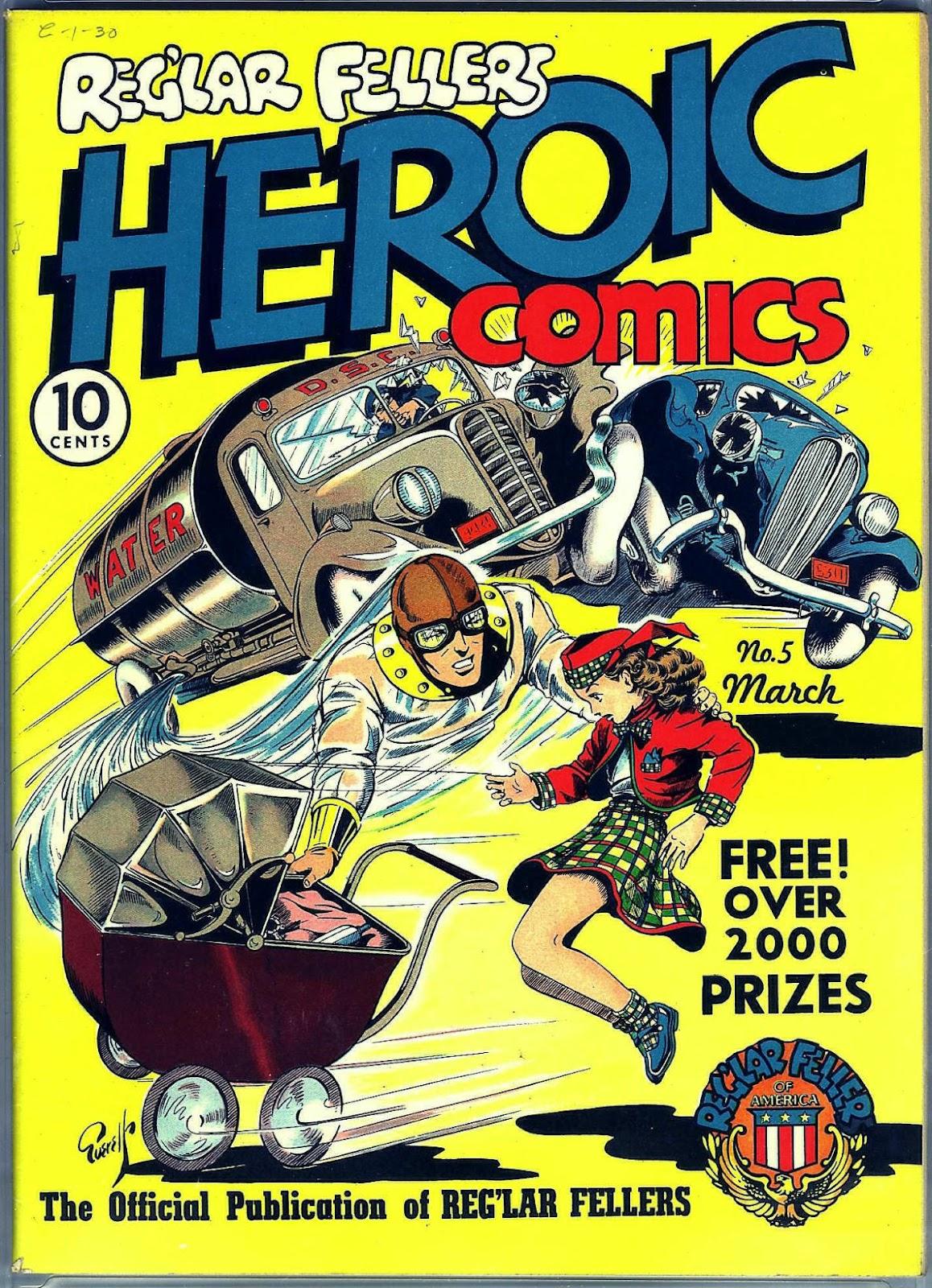 Reglar Fellers Heroic Comics issue 5 - Page 1