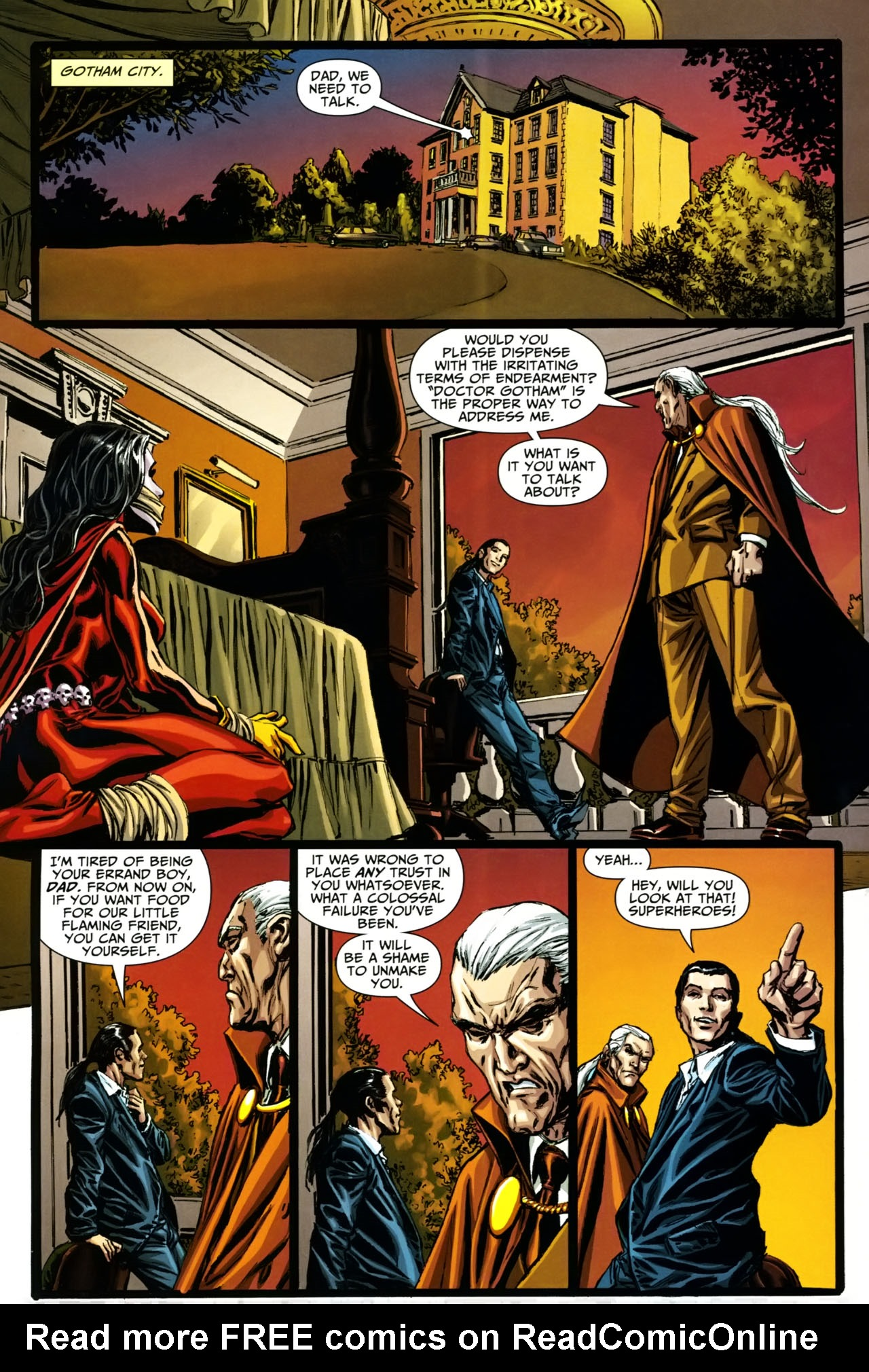 Read online Shadowpact comic -  Issue #19 - 6