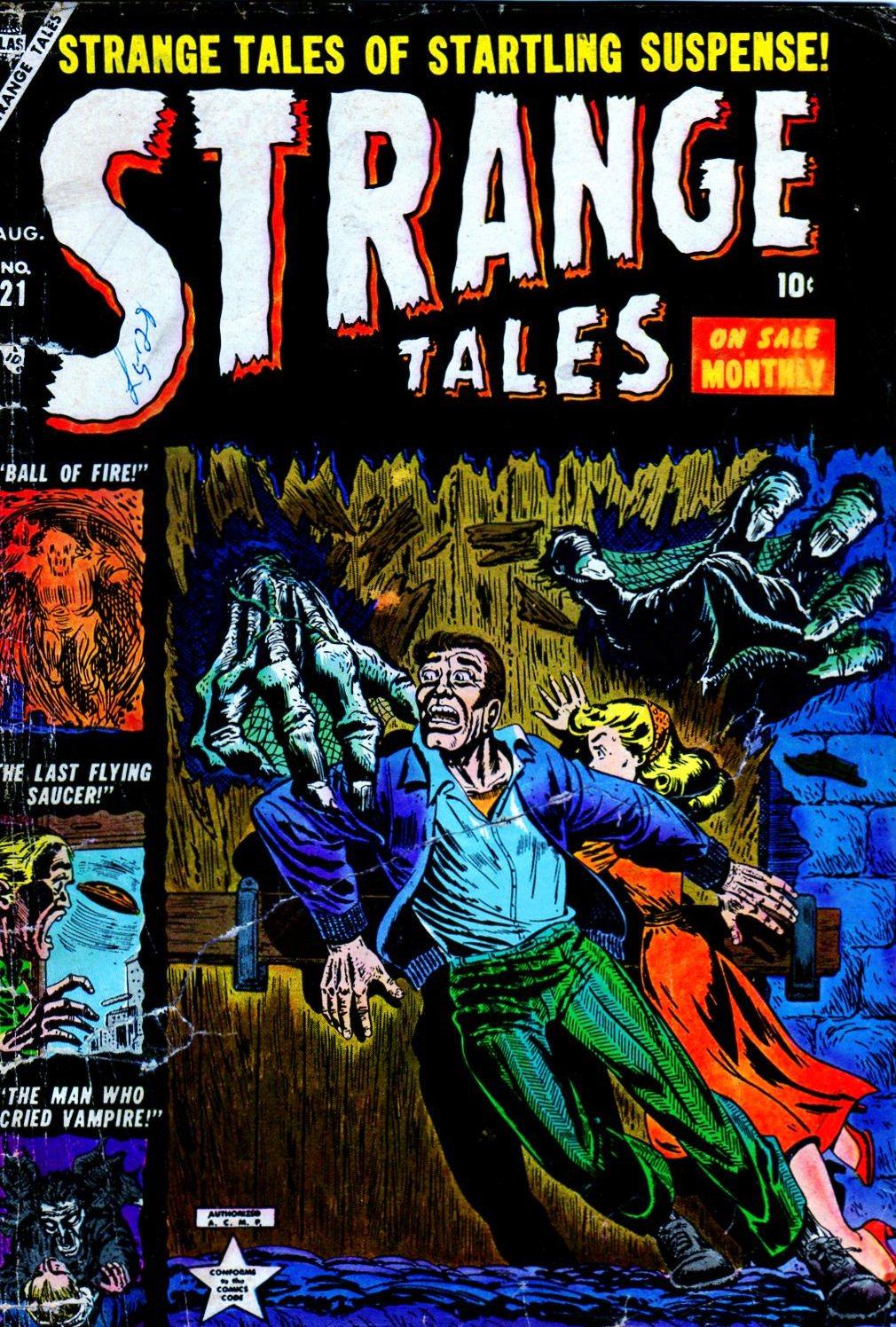 Strange Tales (1951) 21 Page 1