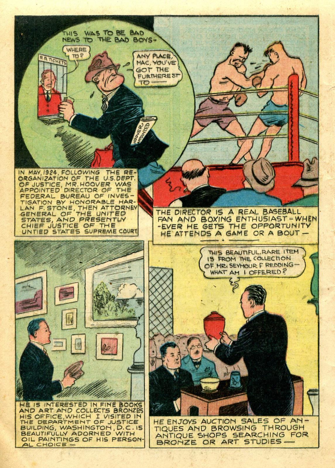 Read online Shadow Comics comic -  Issue #44 - 19