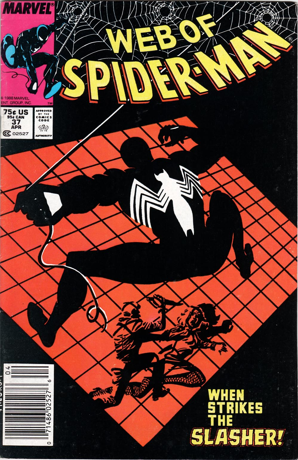 Web of Spider-Man (1985) 37 Page 1