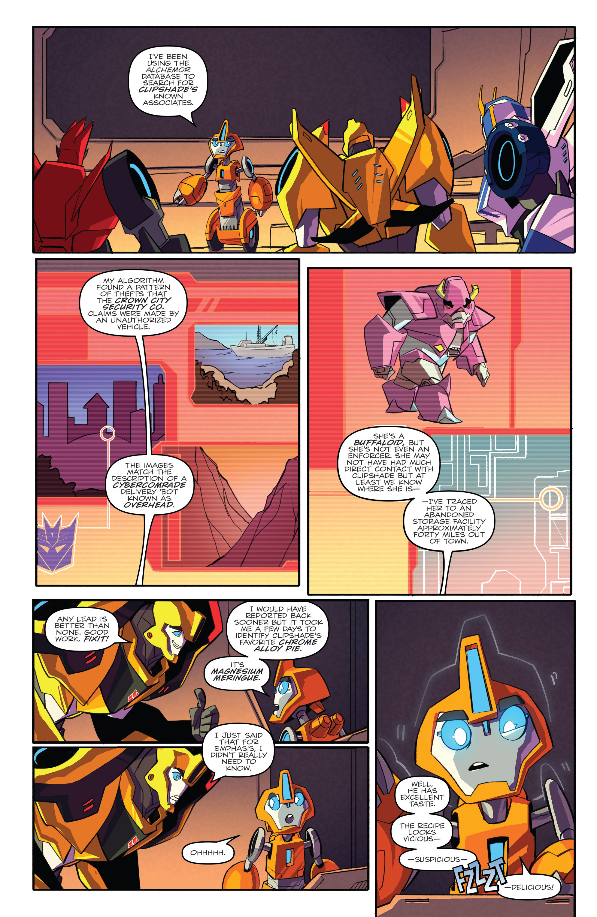 Read online Transformers: Robots In Disguise (2015) comic -  Issue #3 - 7