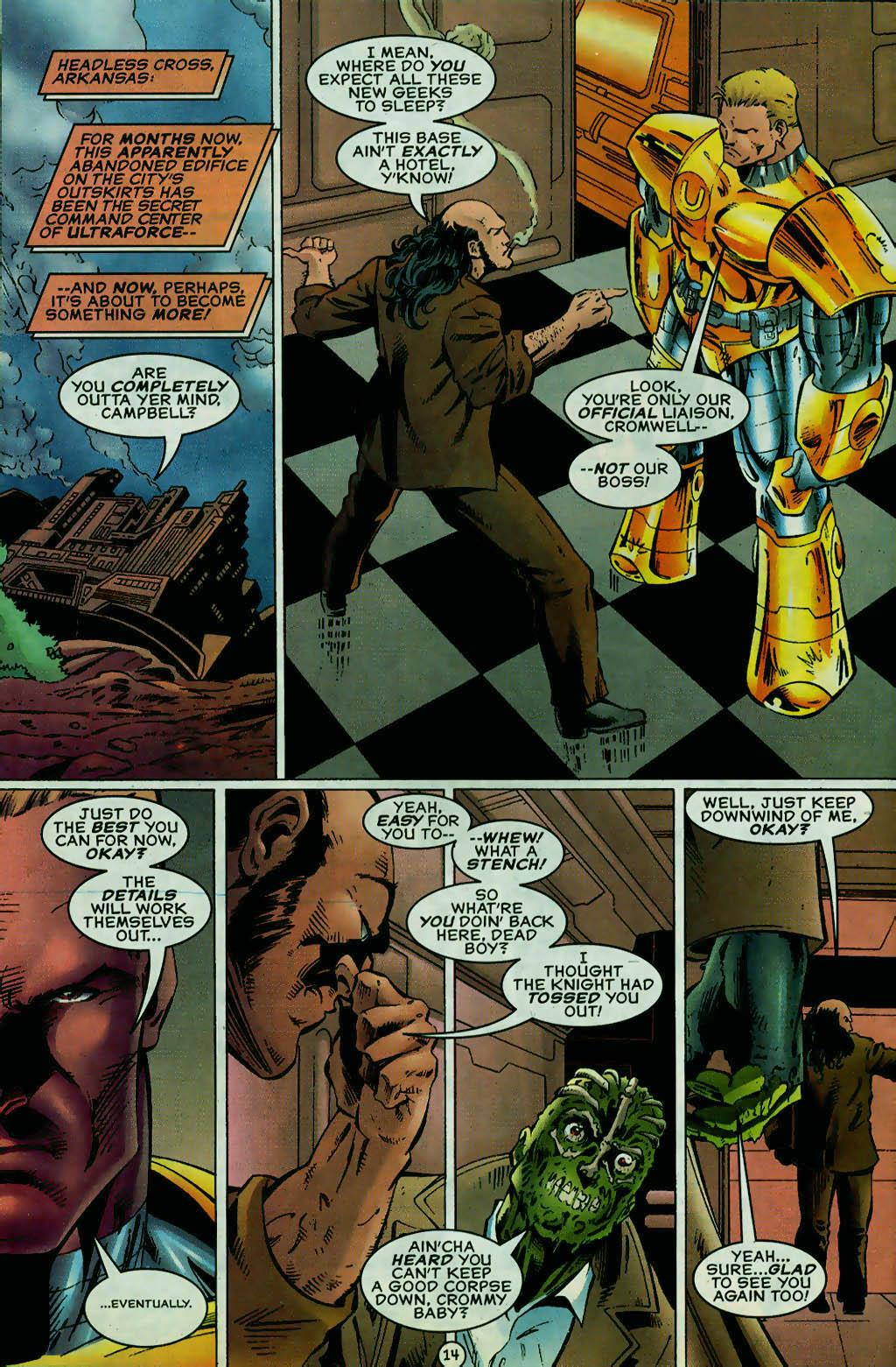 Read online UltraForce (1995) comic -  Issue #13 - 15