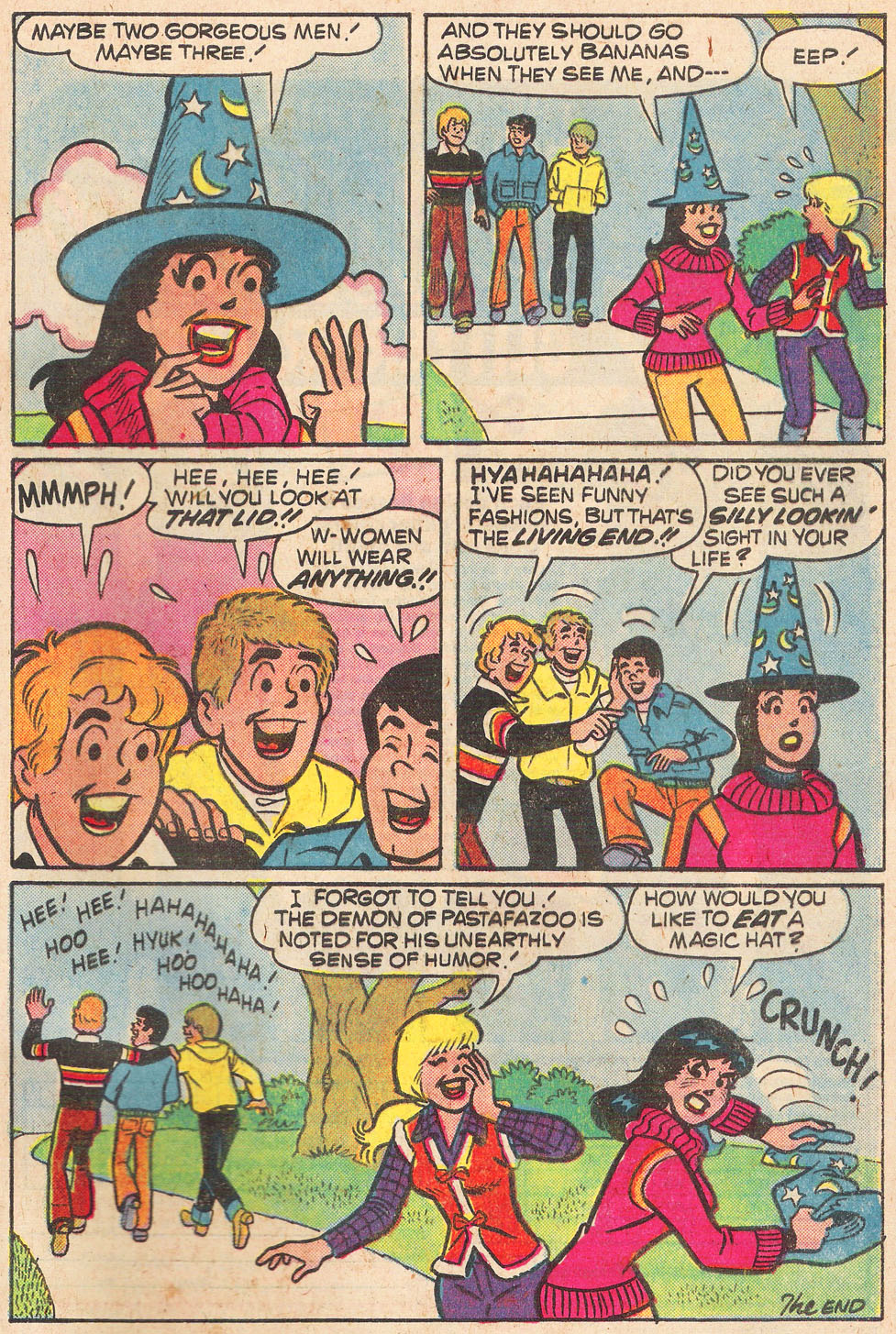 Read online Archie's Girls Betty and Veronica comic -  Issue #269 - 33