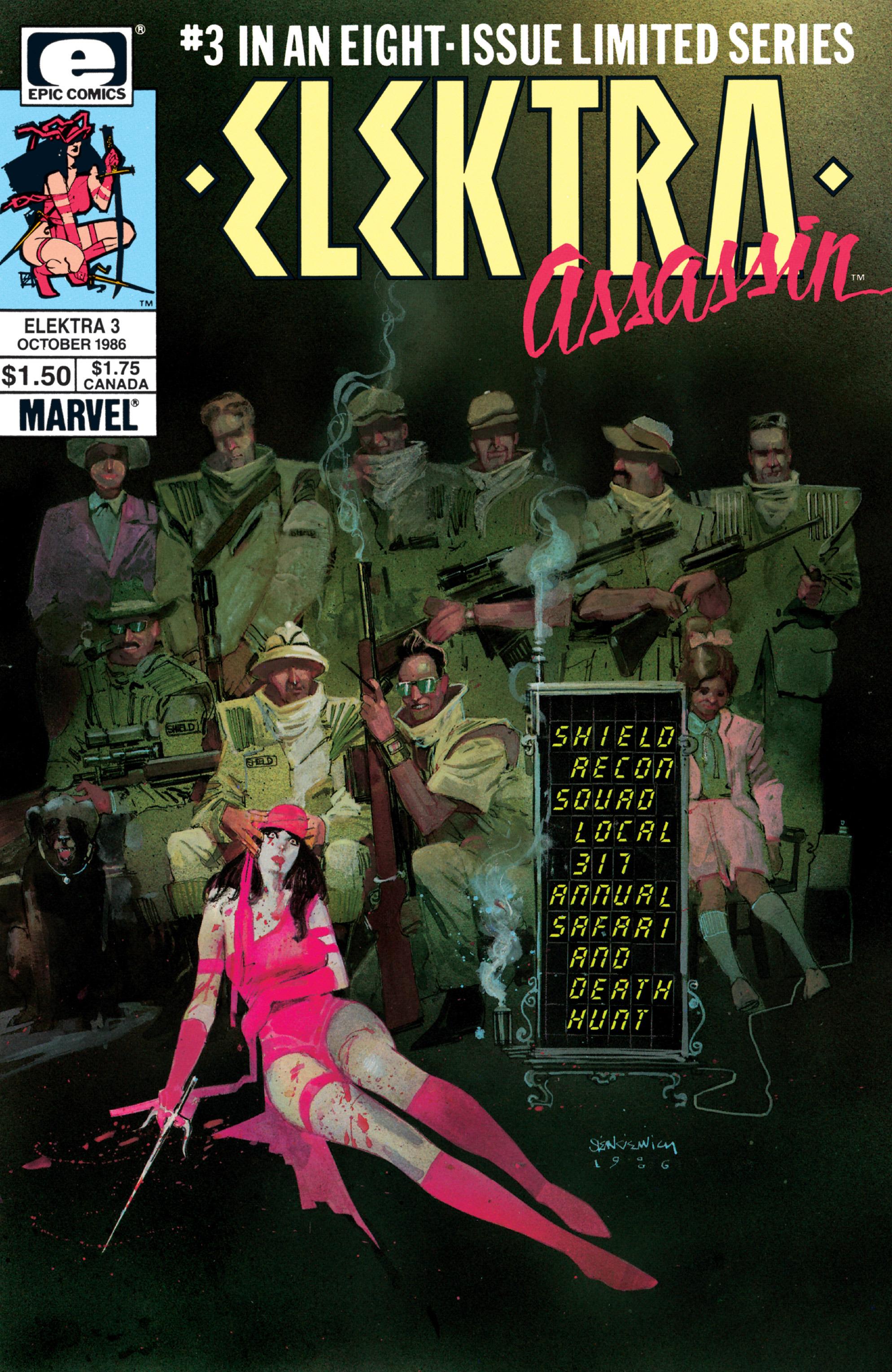 Elektra: Assassin 3 Page 1