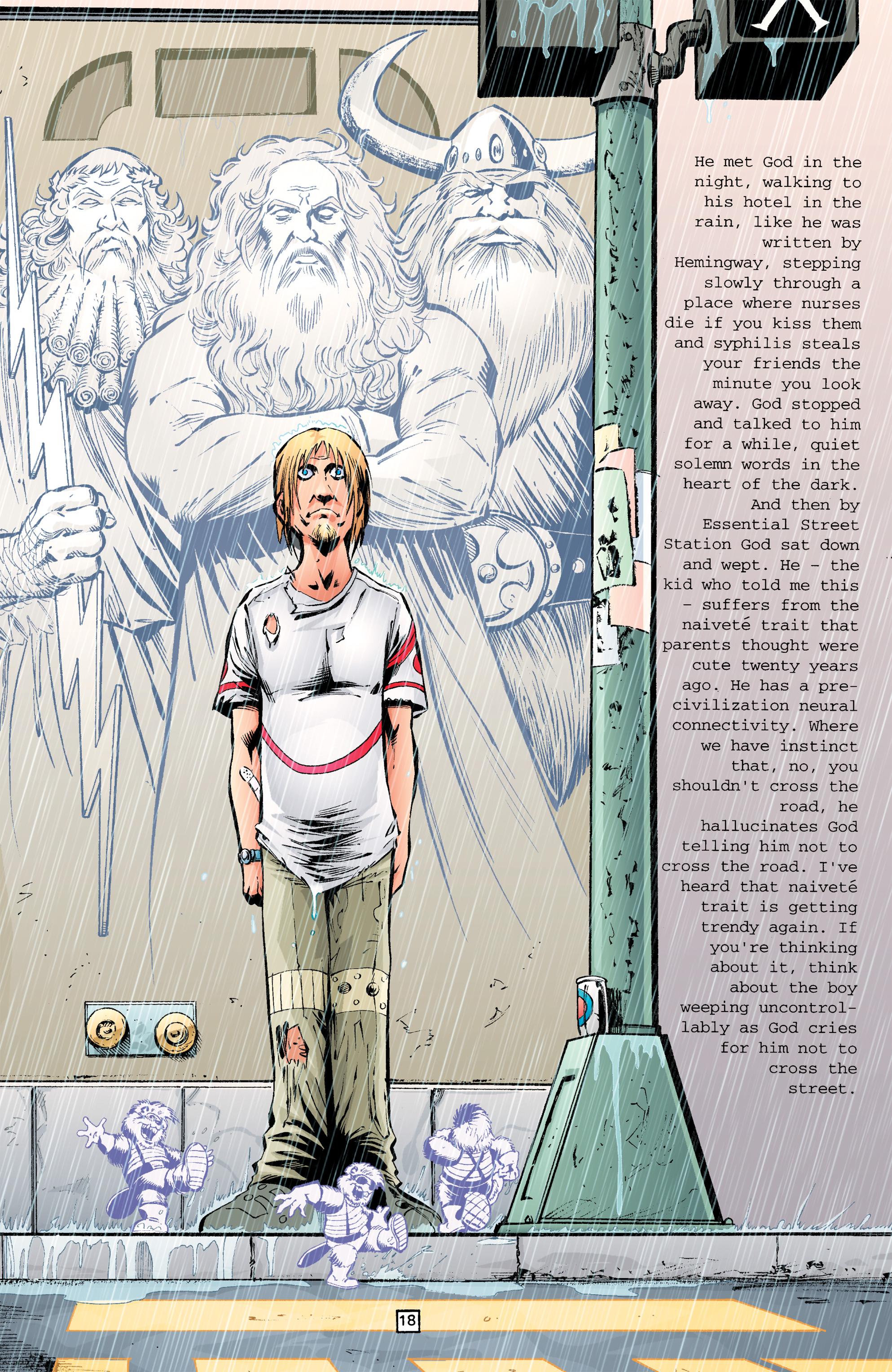 Read online Transmetropolitan comic -  Issue #26 - 19