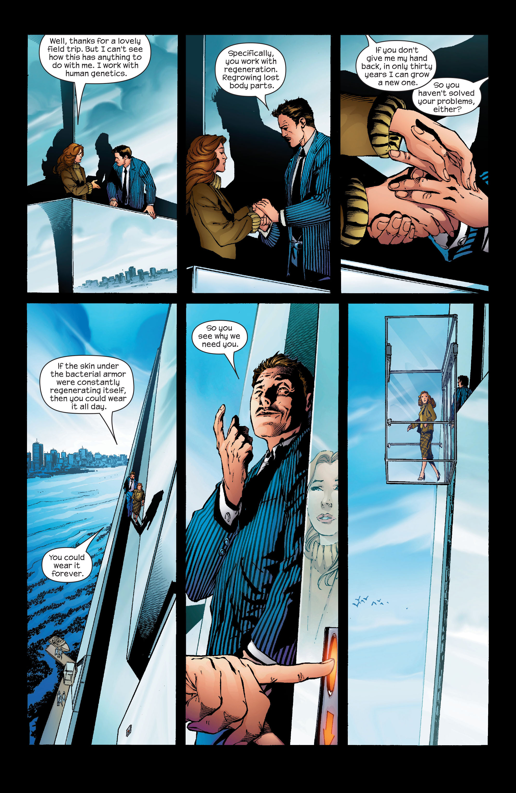 Read online Ultimate Iron Man (2005) comic -  Issue #1 - 8