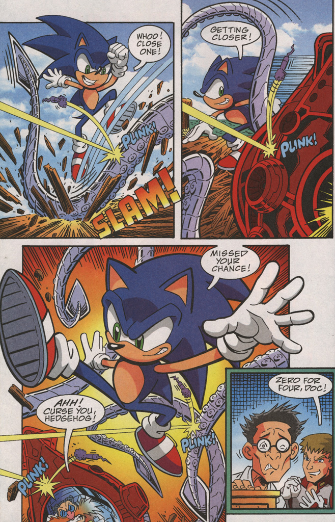 Read online Sonic X comic -  Issue #38 - 10