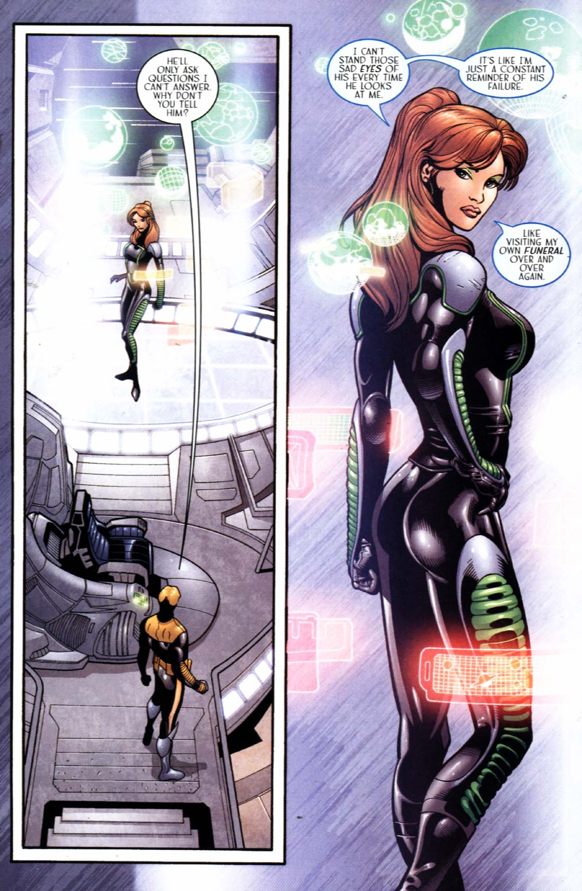 Read online Sigil (2000) comic -  Issue #22 - 23