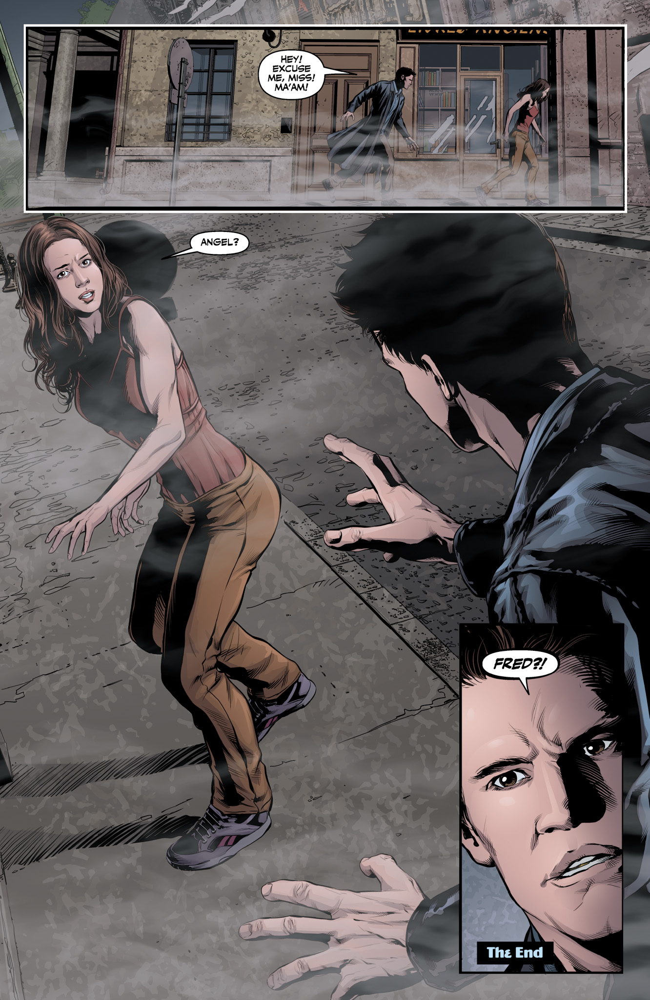 Read online Angel & Faith Season 10 comic -  Issue #10 - 24
