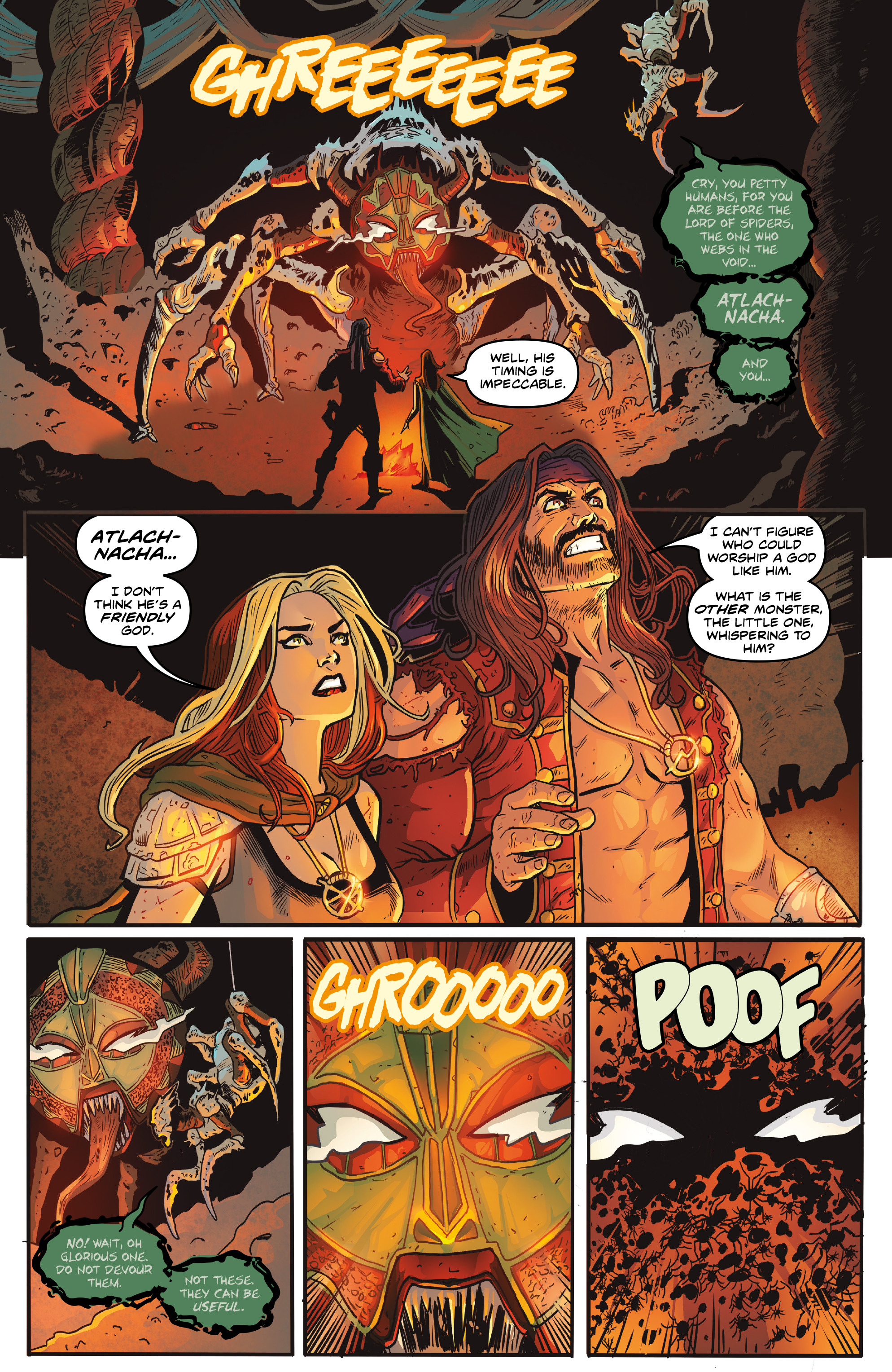 Read online Rogues!: The Burning Heart comic -  Issue #5 - 8