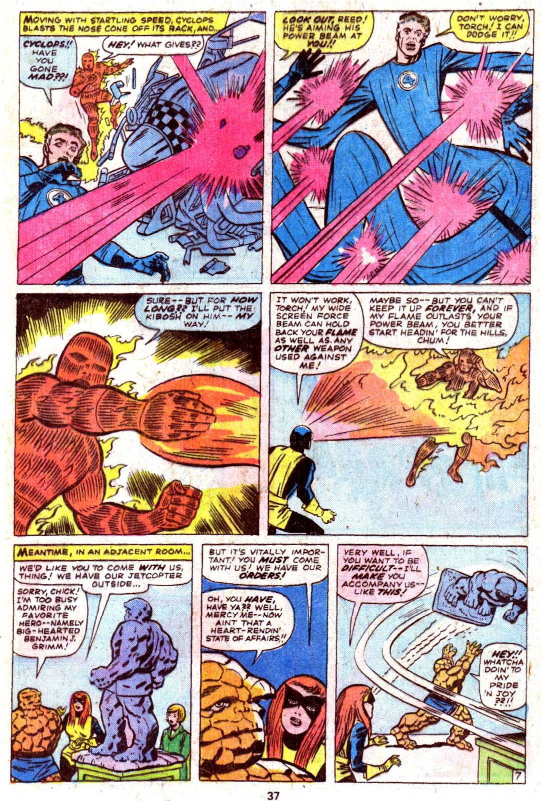 Giant-Size Fantastic Four issue 4 - Page 39