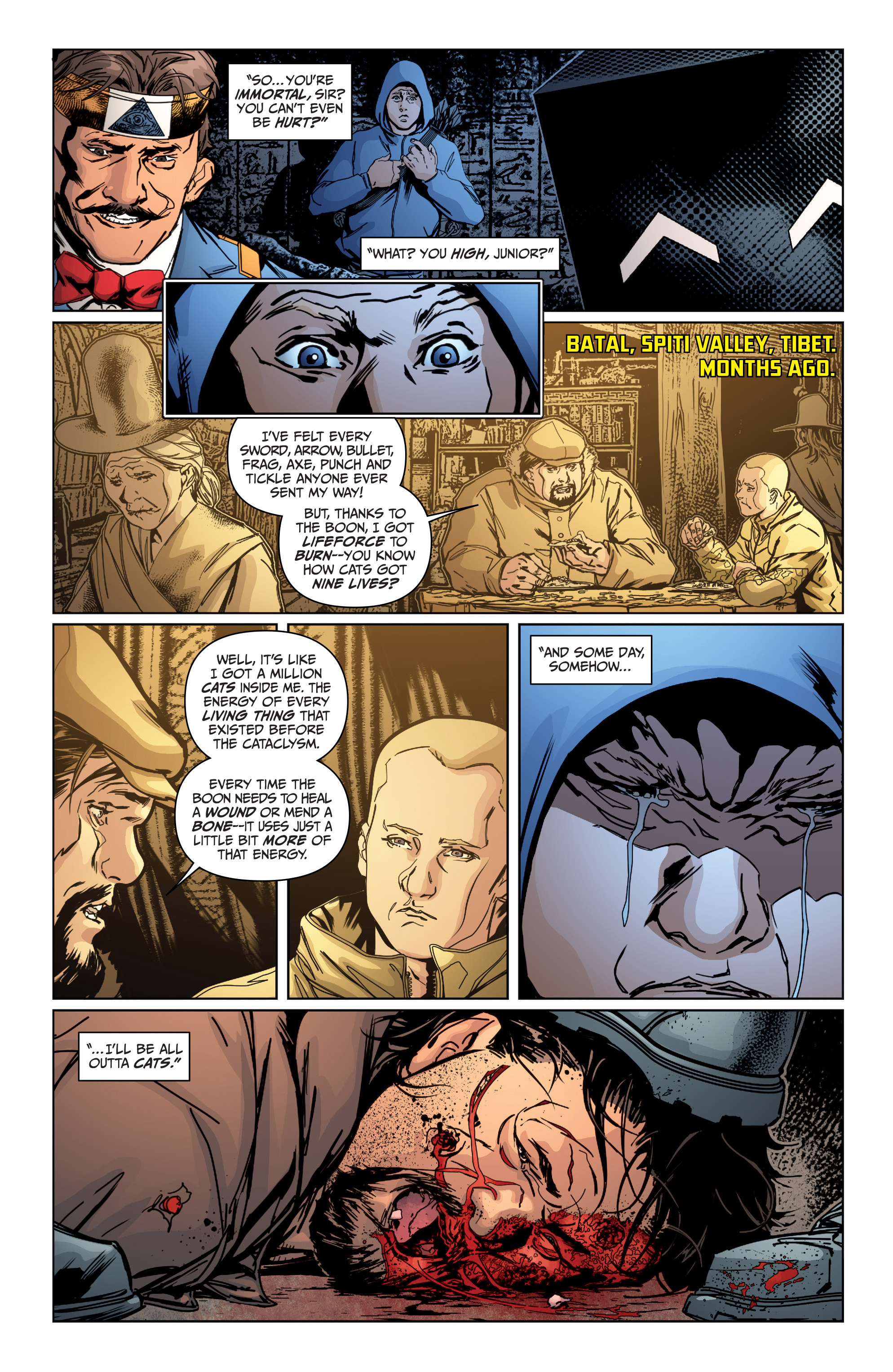 Read online Archer and Armstrong comic -  Issue #Archer and Armstrong _TPB 4 - 86